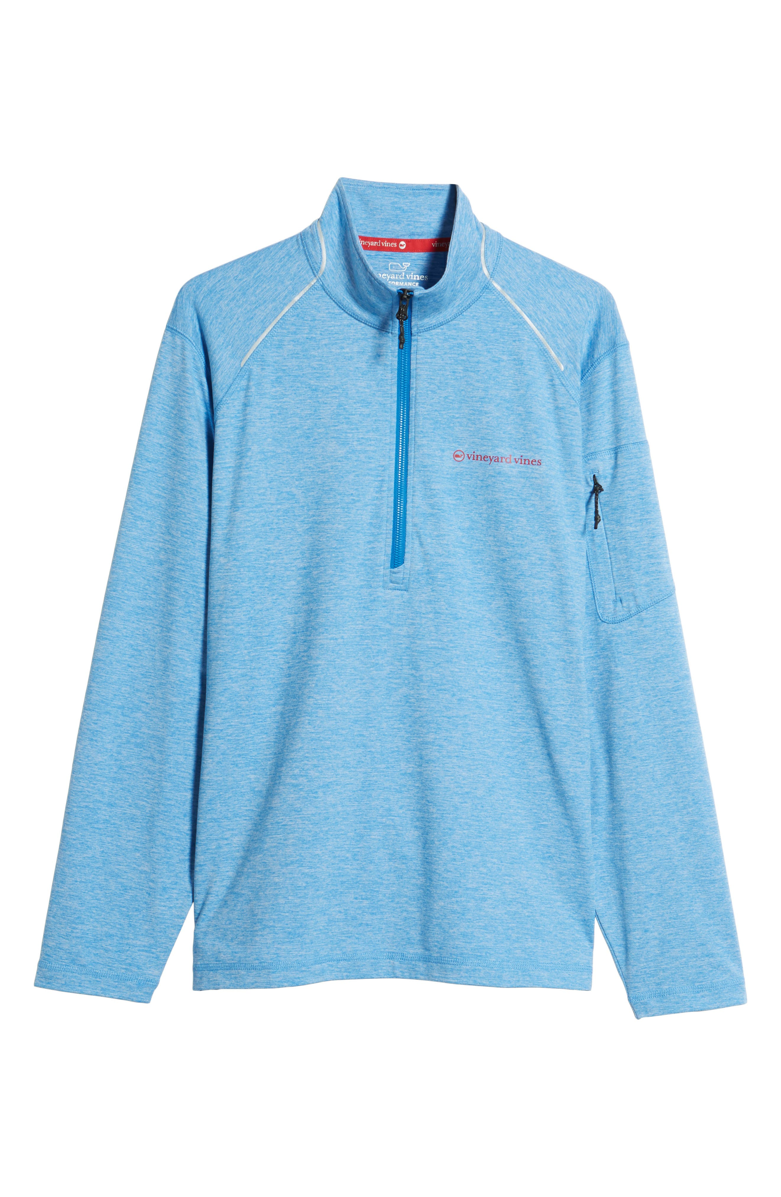 Performance Half Zip Pullover,                             Alternate thumbnail 17, color,