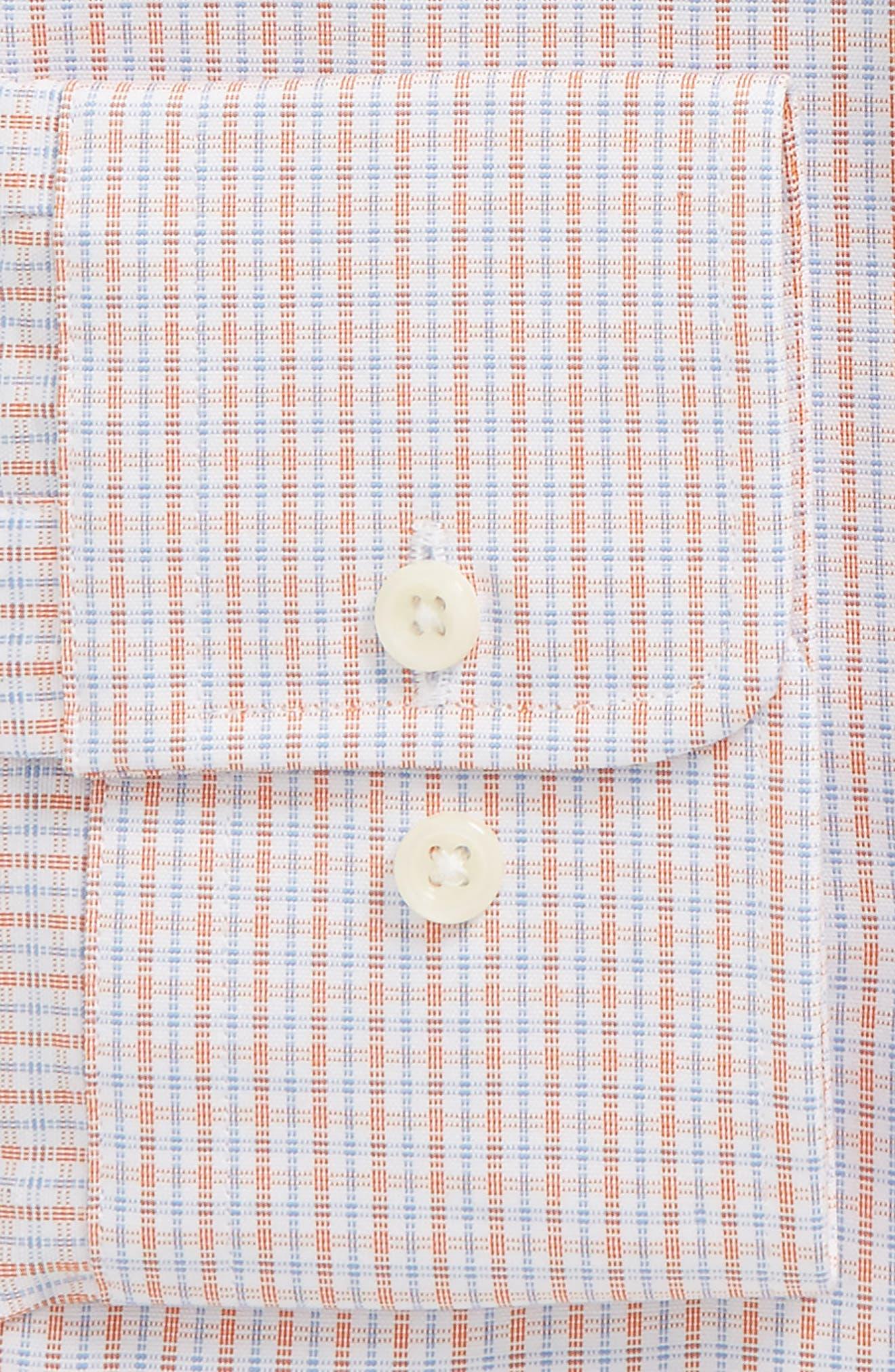 Regular Fit Check Dress Shirt,                             Alternate thumbnail 2, color,                             830