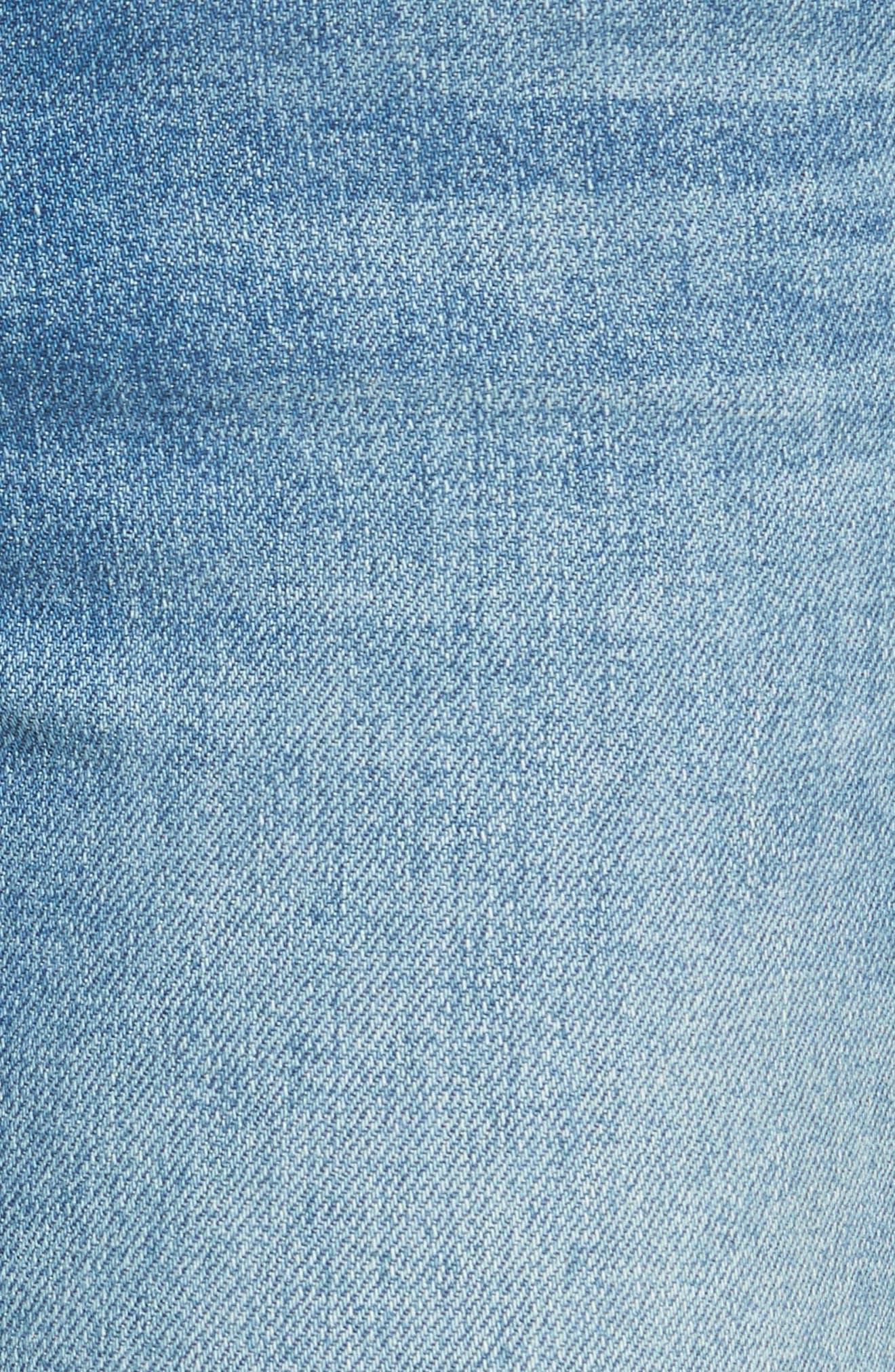 The Rascal High Waist Ankle Jeans,                             Alternate thumbnail 5, color,                             415