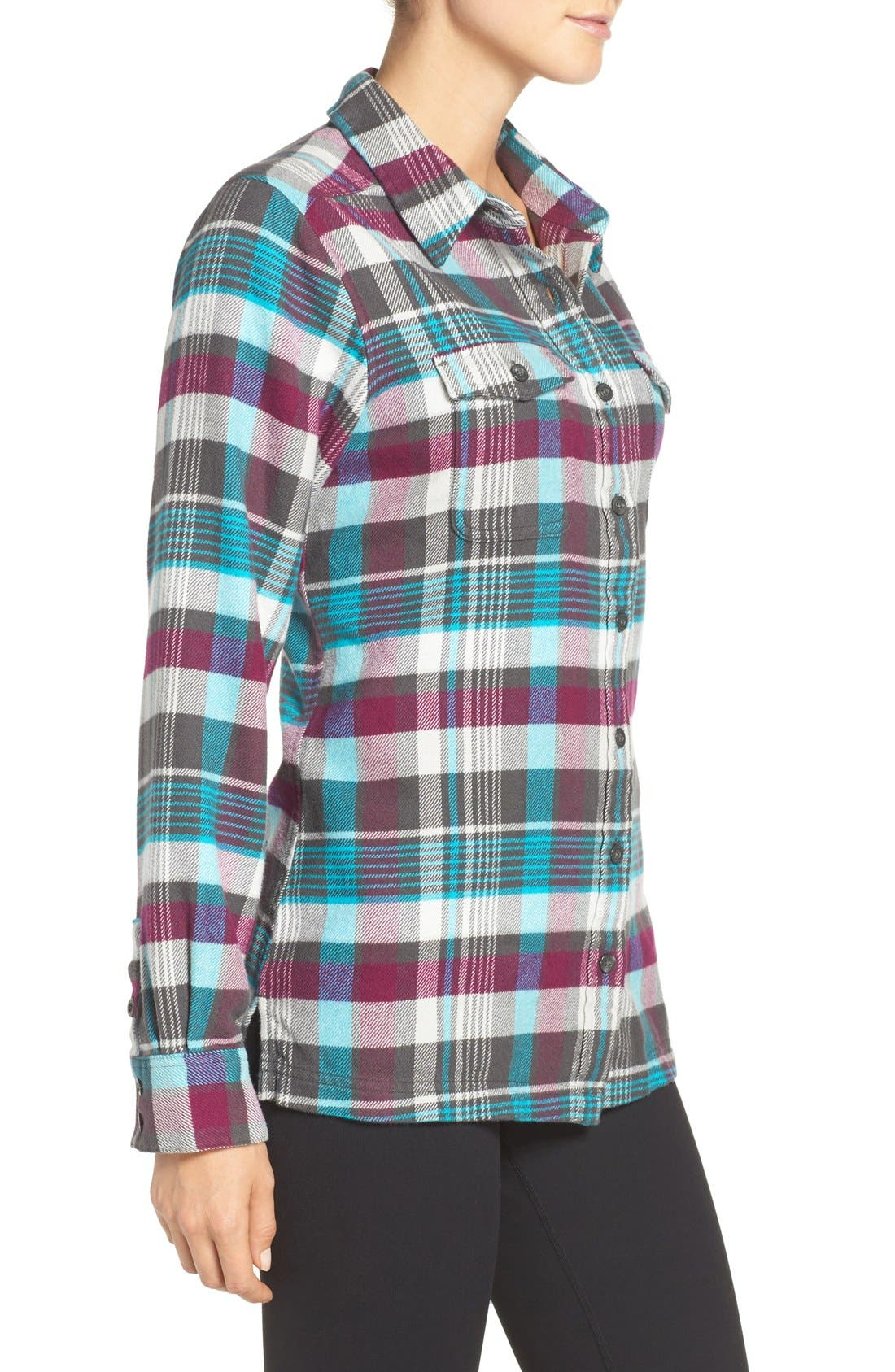 'Fjord' Flannel Shirt,                             Alternate thumbnail 51, color,