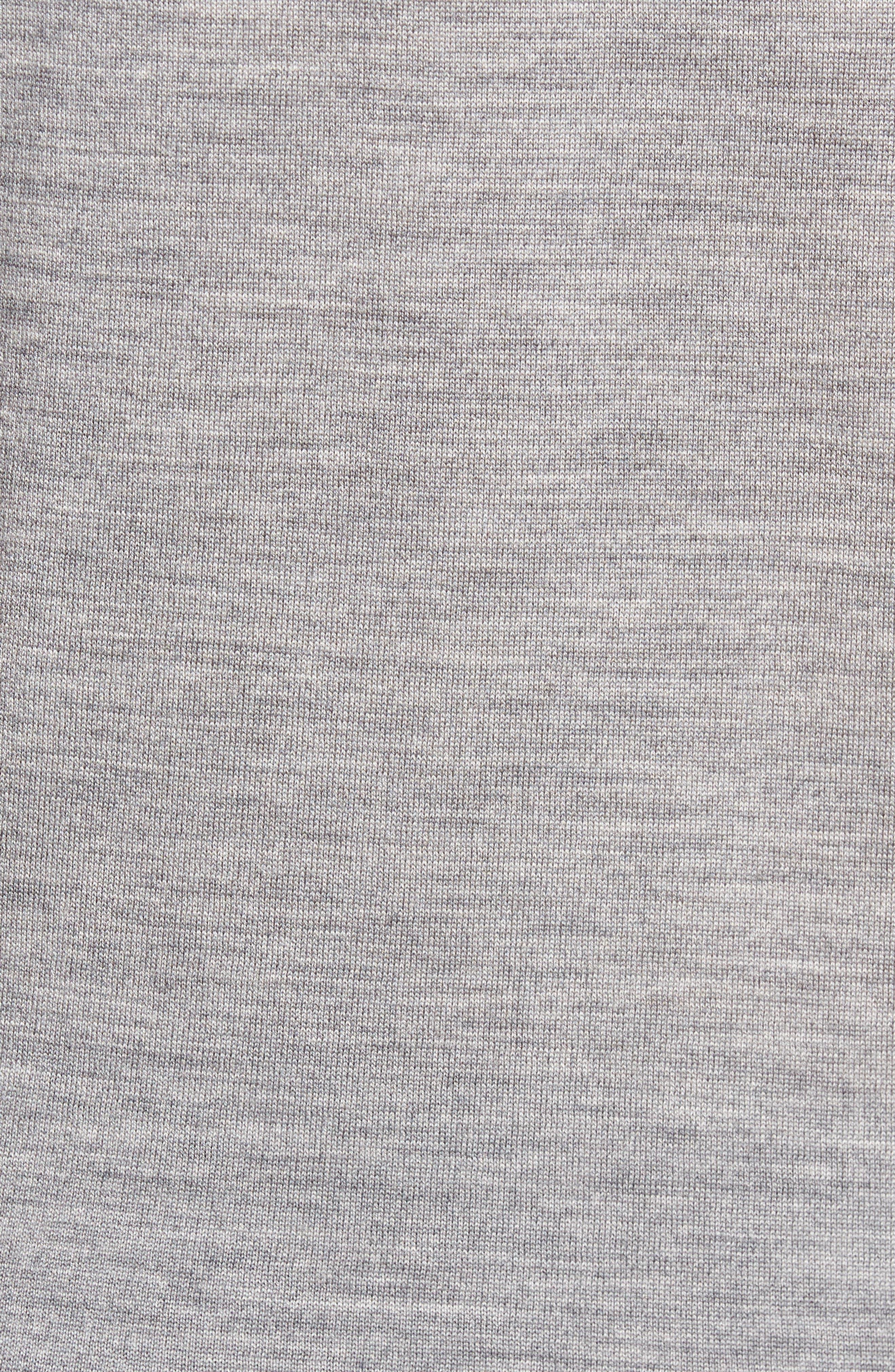 Colorblock Merino Wool Polo,                             Alternate thumbnail 5, color,                             099