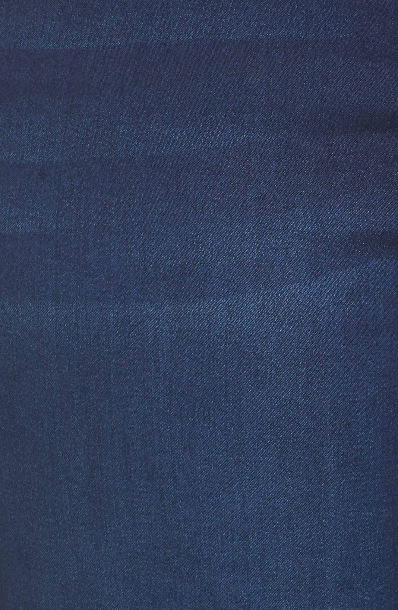 MELISSA MCCARTHY SEVEN7,                             Lace-Up Pencil Leg Jeans,                             Alternate thumbnail 5, color,                             405