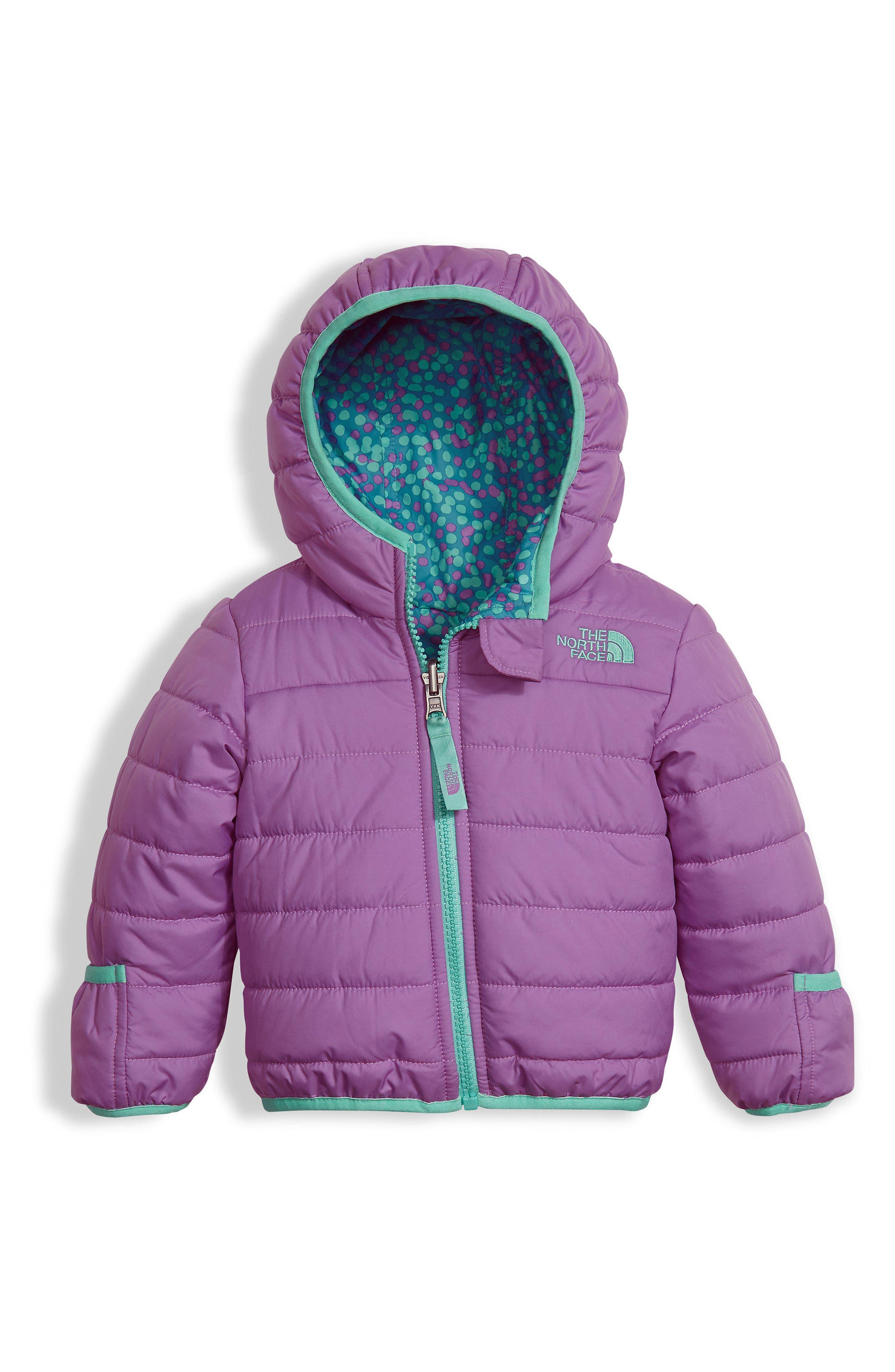 'Perrito' Reversible Water Repellent Hooded Jacket,                             Main thumbnail 1, color,