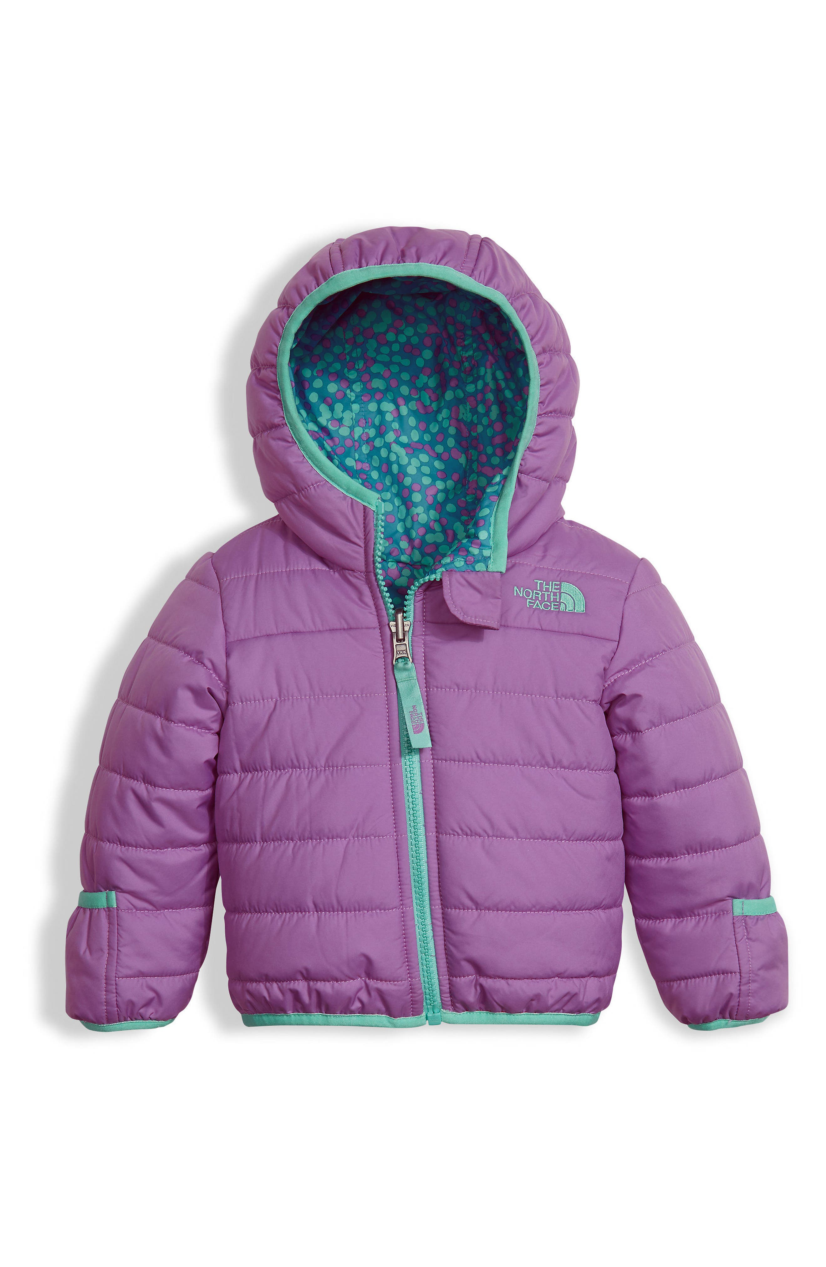 'Perrito' Reversible Water Repellent Hooded Jacket,                         Main,                         color,
