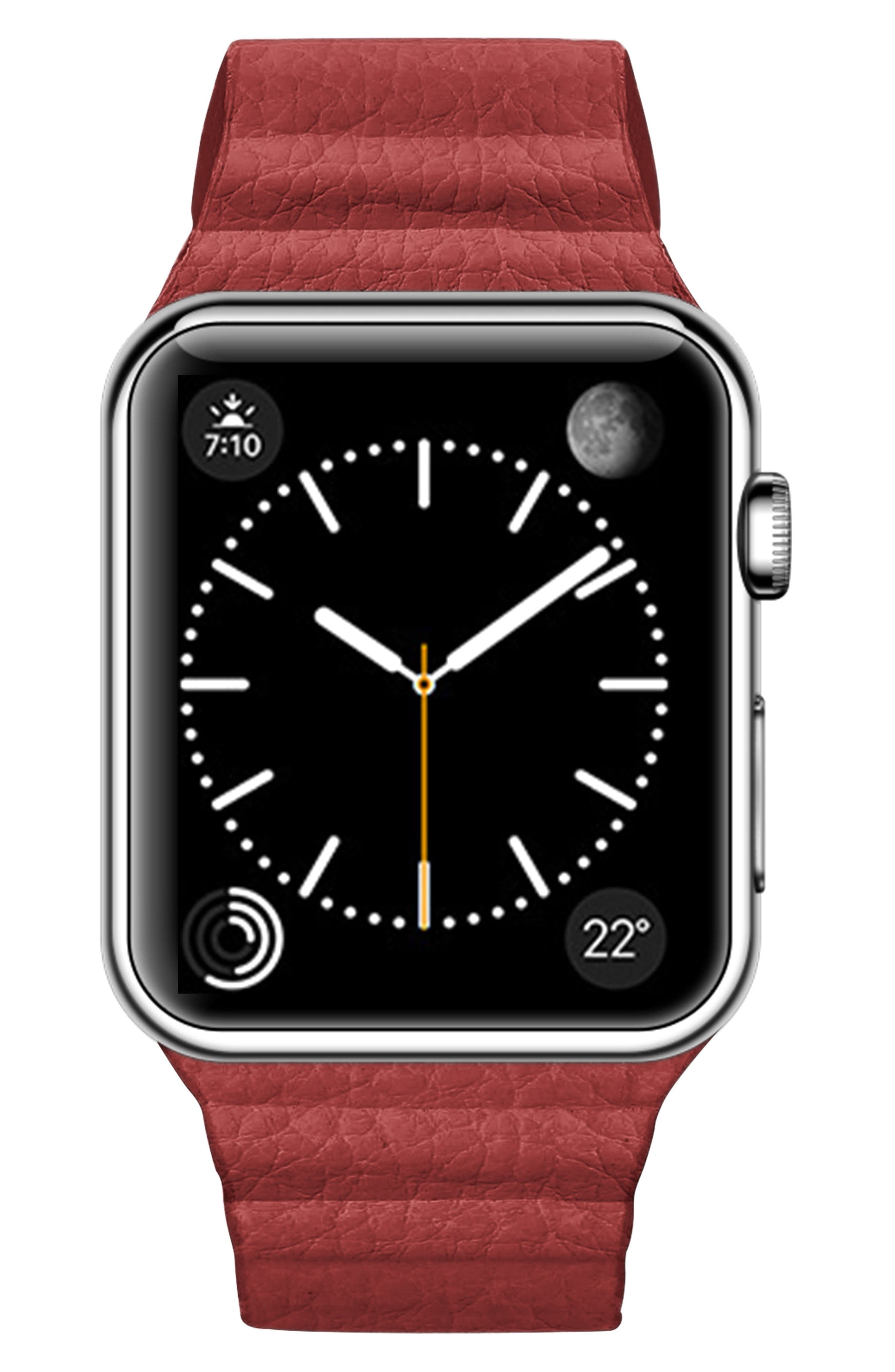 Magnetic Apple Watch Strap, 28mm,                             Main thumbnail 4, color,