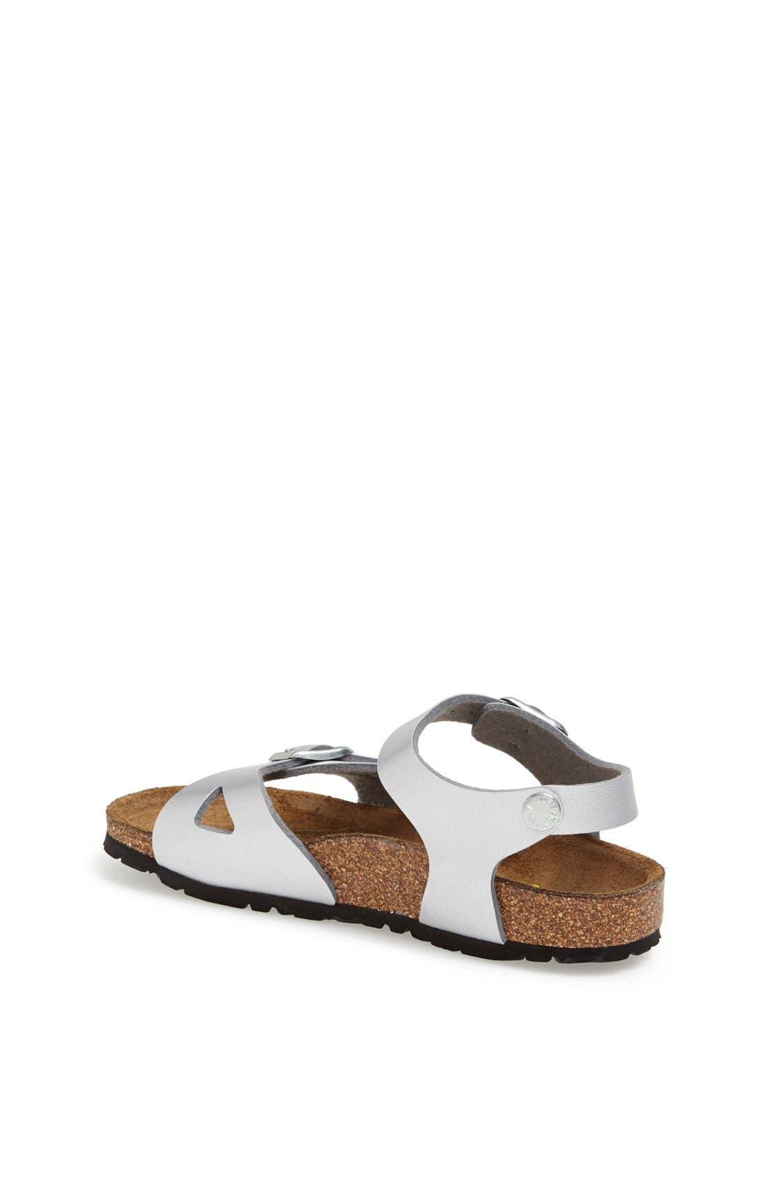 'Rio Birko-Flor<sup>™</sup>' Sandal,                             Alternate thumbnail 4, color,                             040