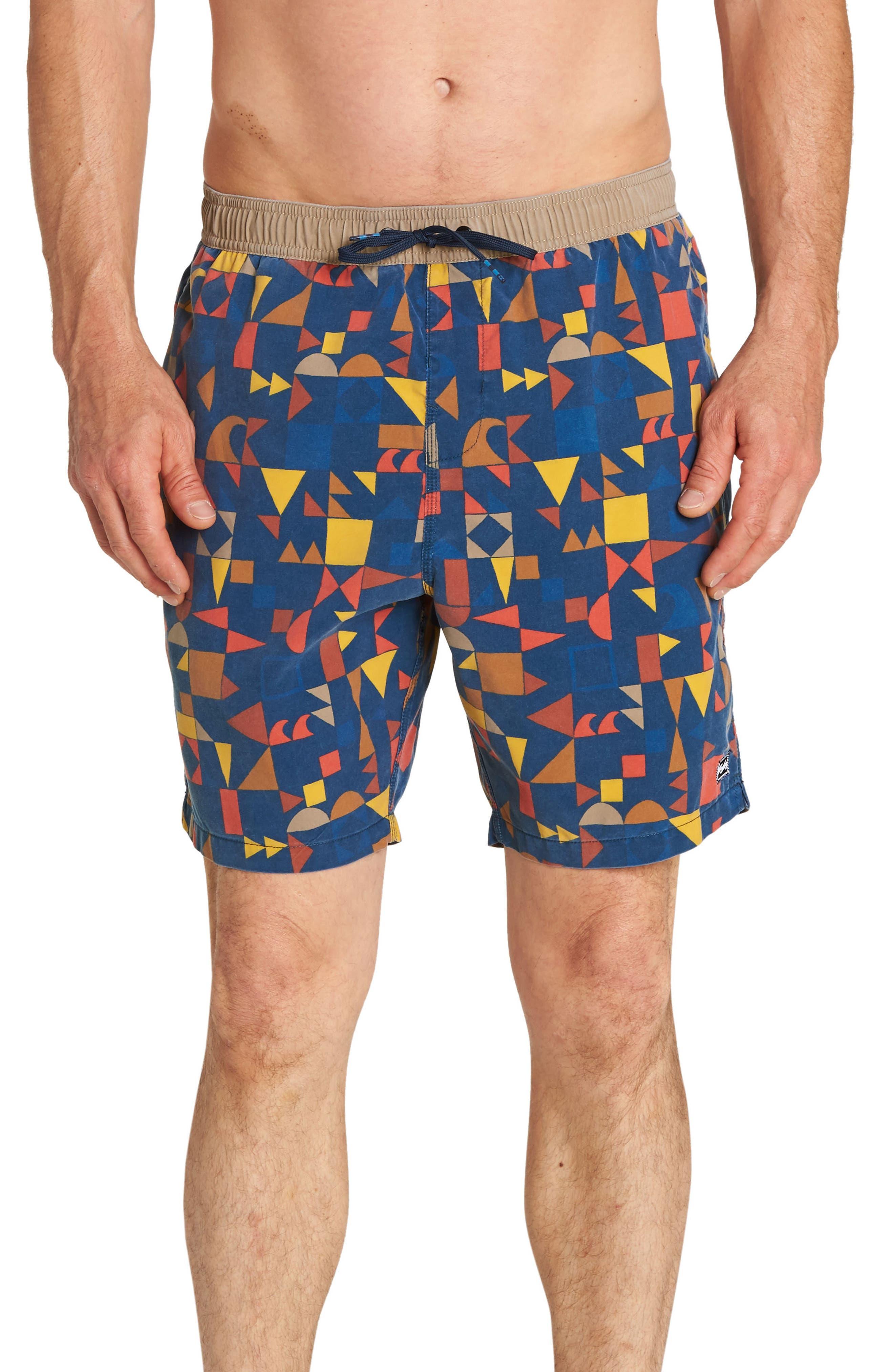 Sundays Layback Board Shorts,                             Main thumbnail 4, color,