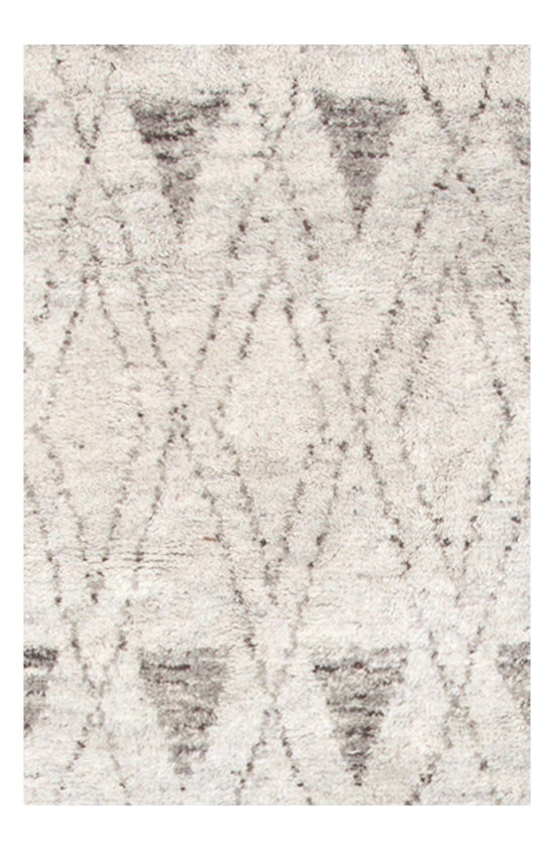 'Masinissa' Hand Knotted Rug,                             Main thumbnail 1, color,                             GREY/ MULTI