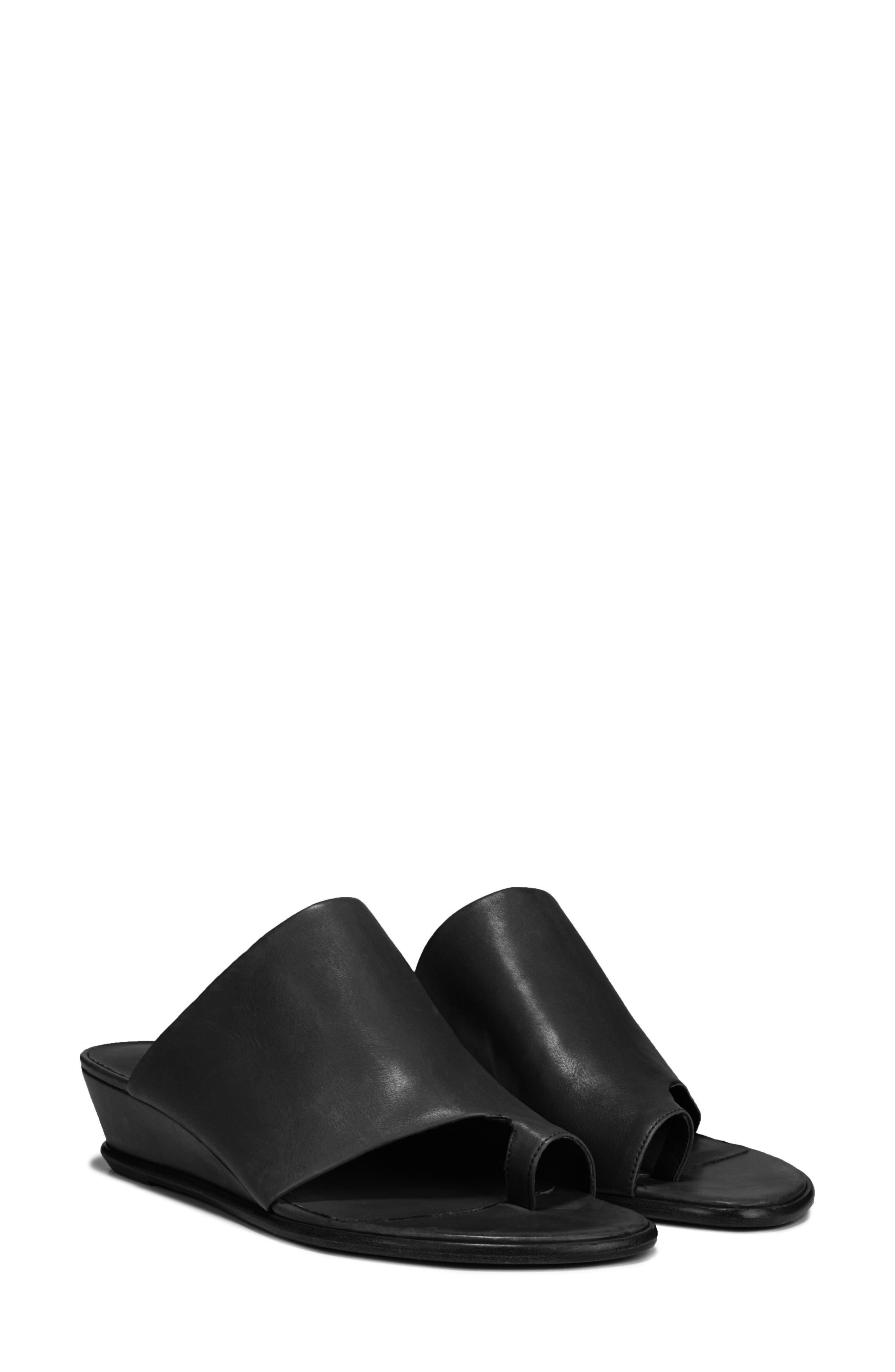 VINCE,                             Darla Slide Sandal,                             Alternate thumbnail 8, color,                             BLACK