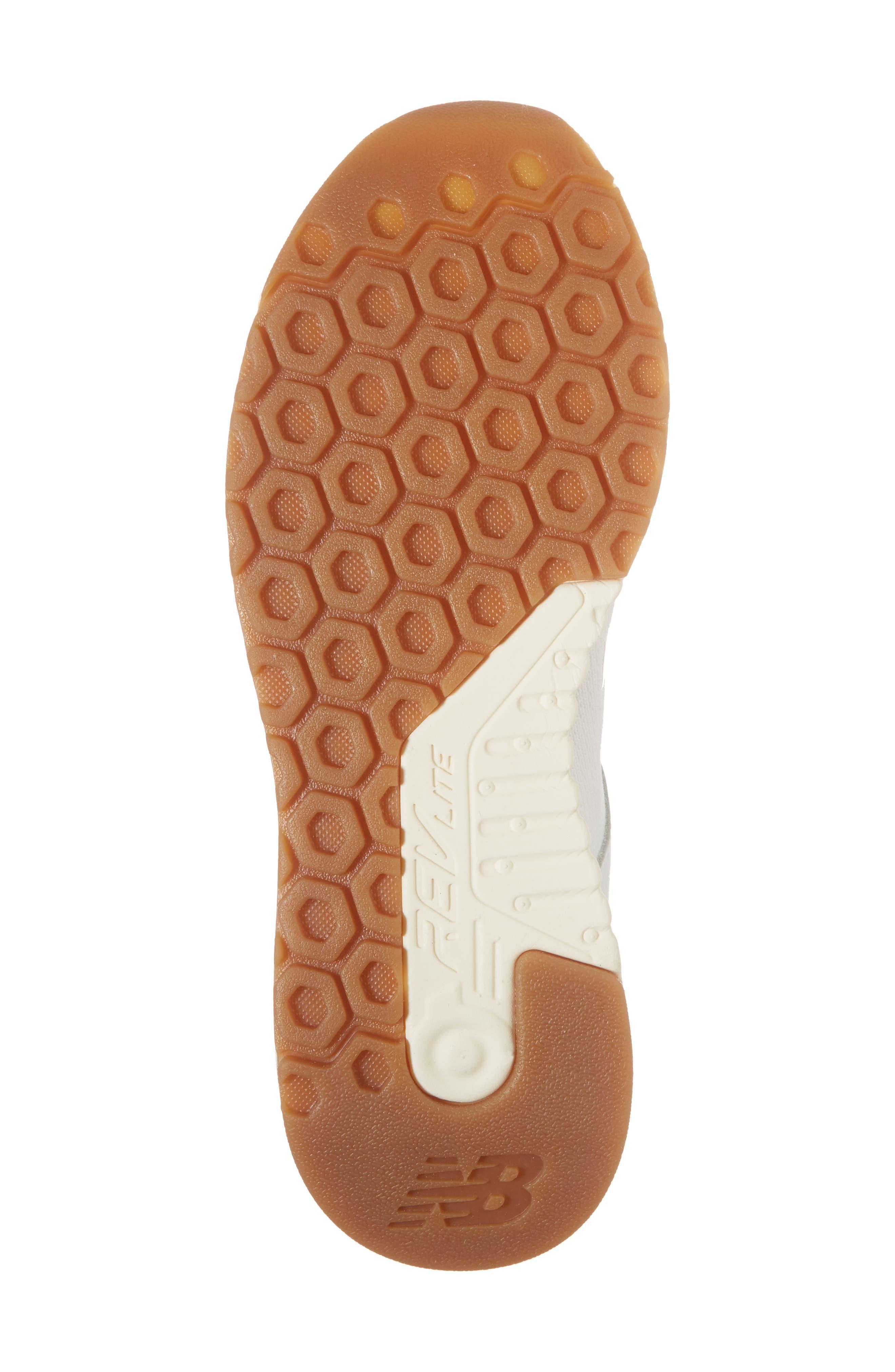 247 Decon Knit Sneaker,                             Alternate thumbnail 6, color,                             WHITE