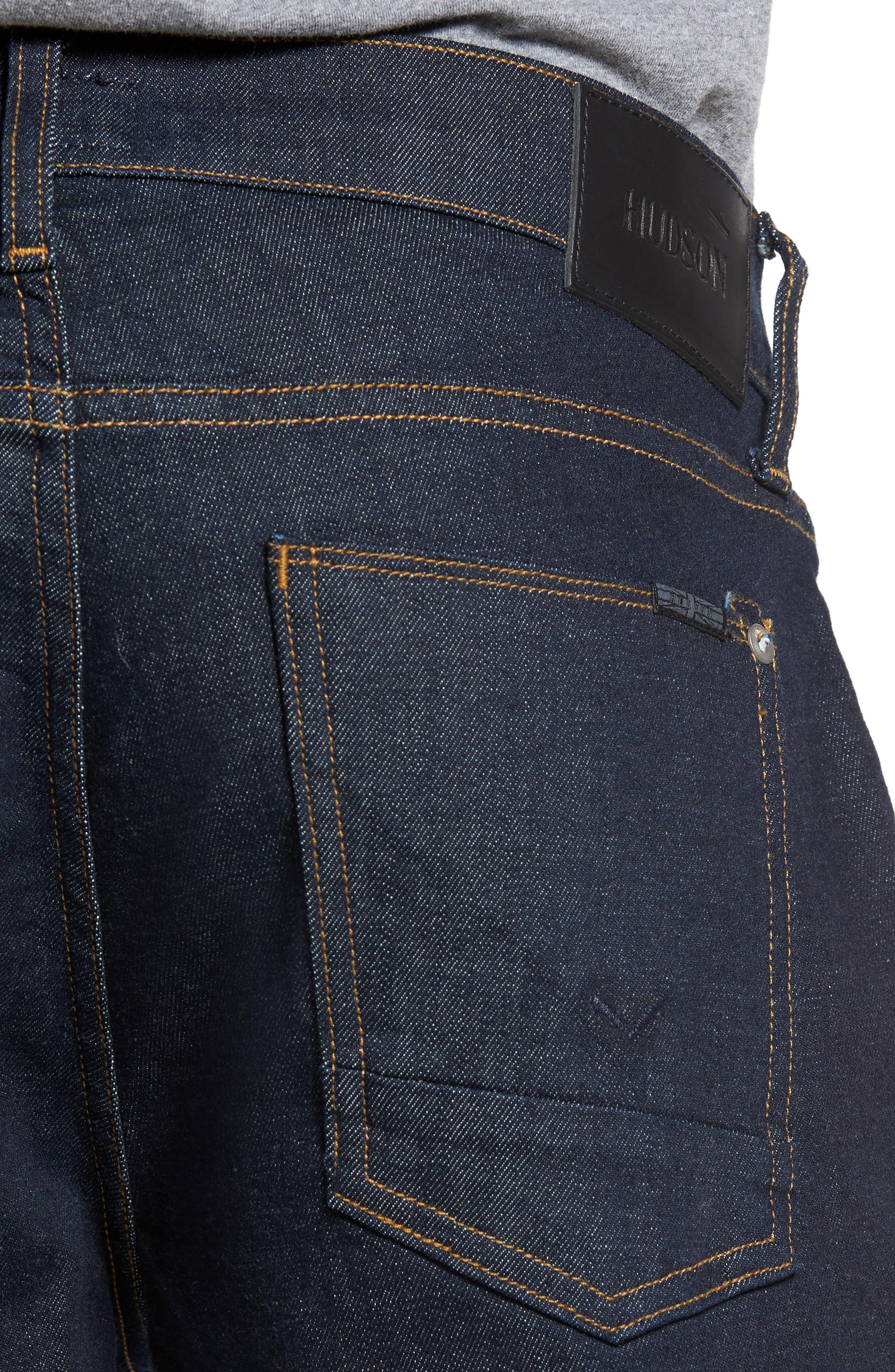 Blake Slim Fit Jeans,                             Alternate thumbnail 4, color,                             410
