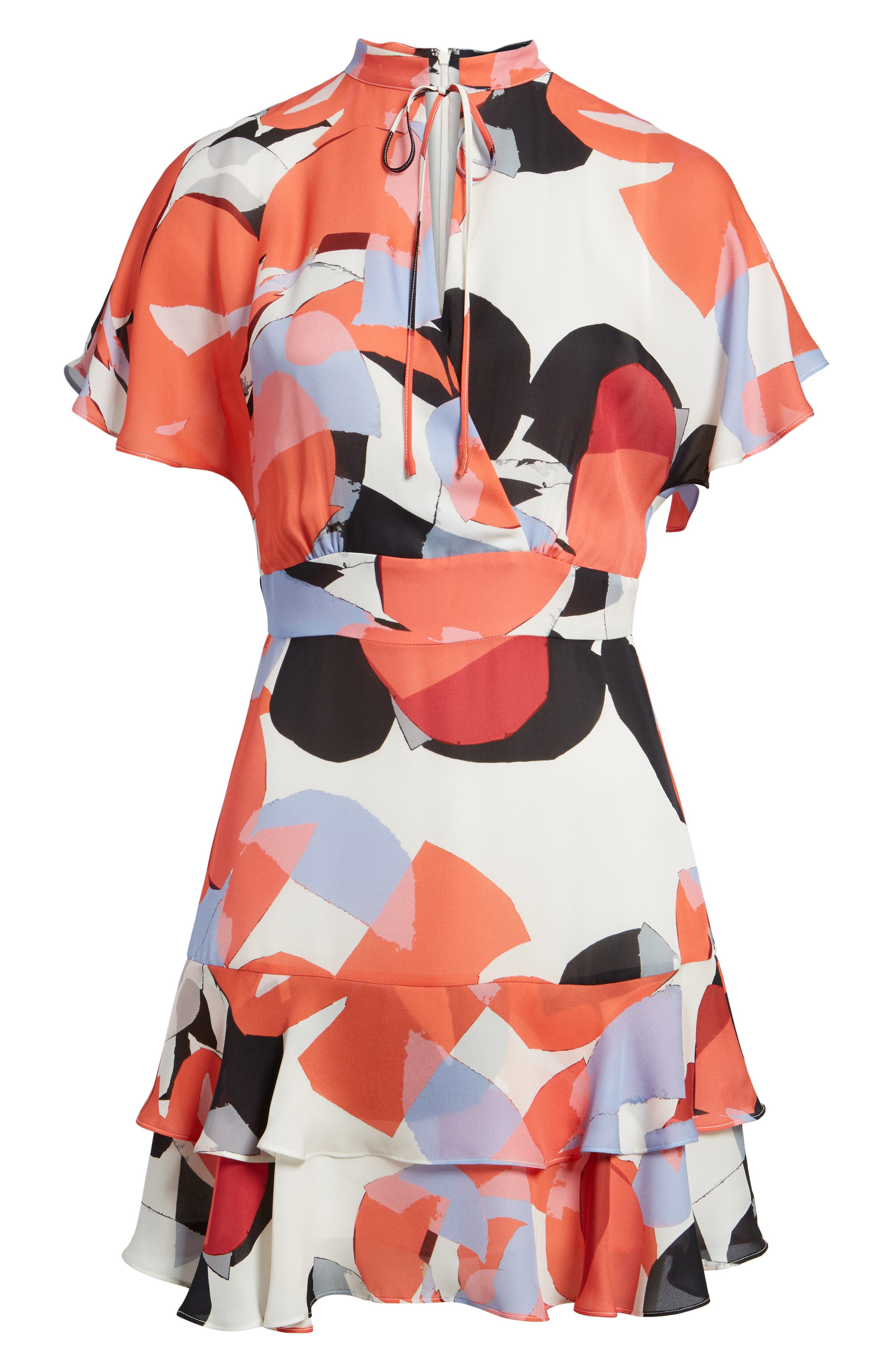 Natalie Silk Dress,                             Alternate thumbnail 6, color,