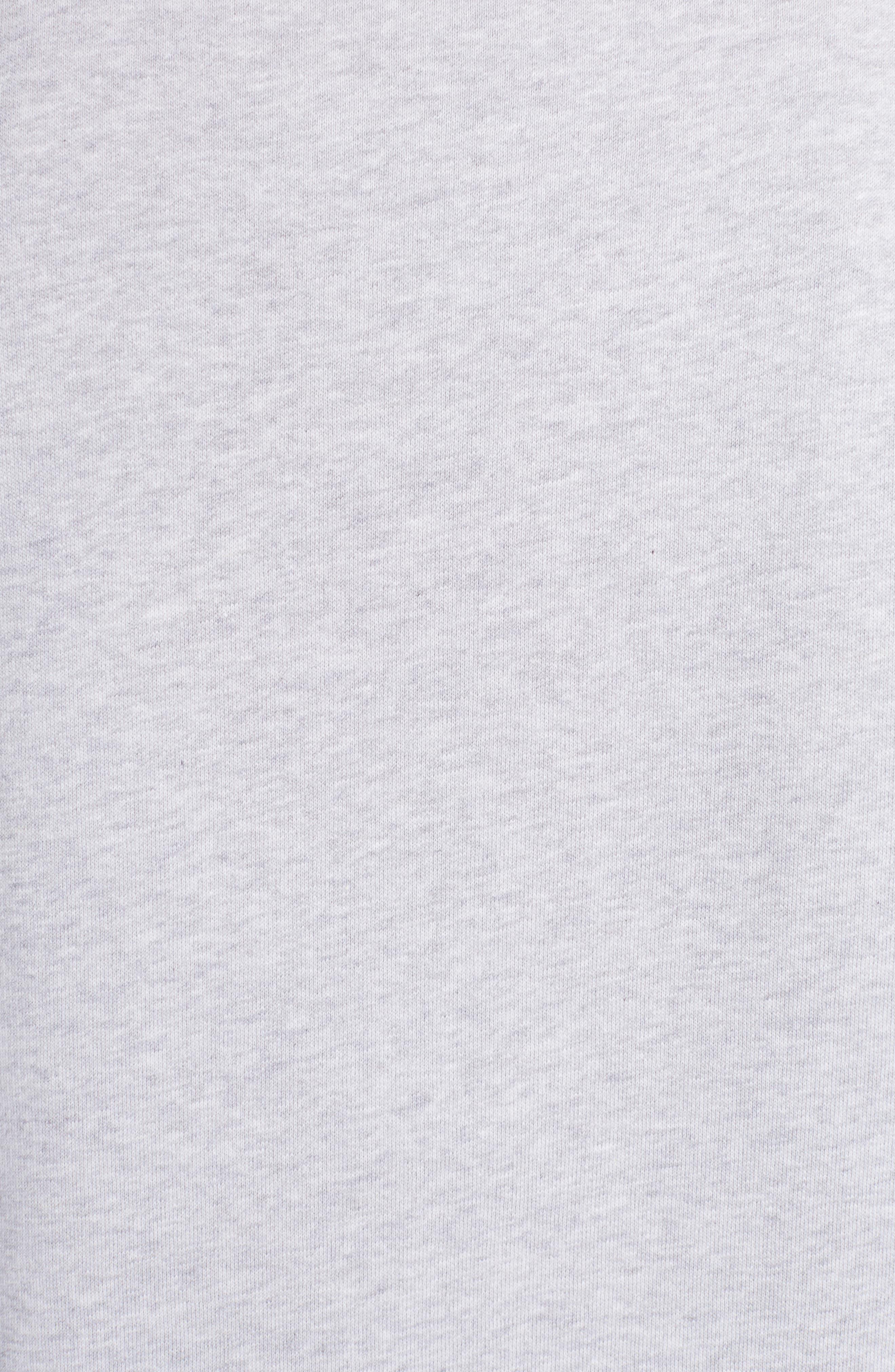 Stripe Logo Graphic Sweatshirt,                             Alternate thumbnail 5, color,