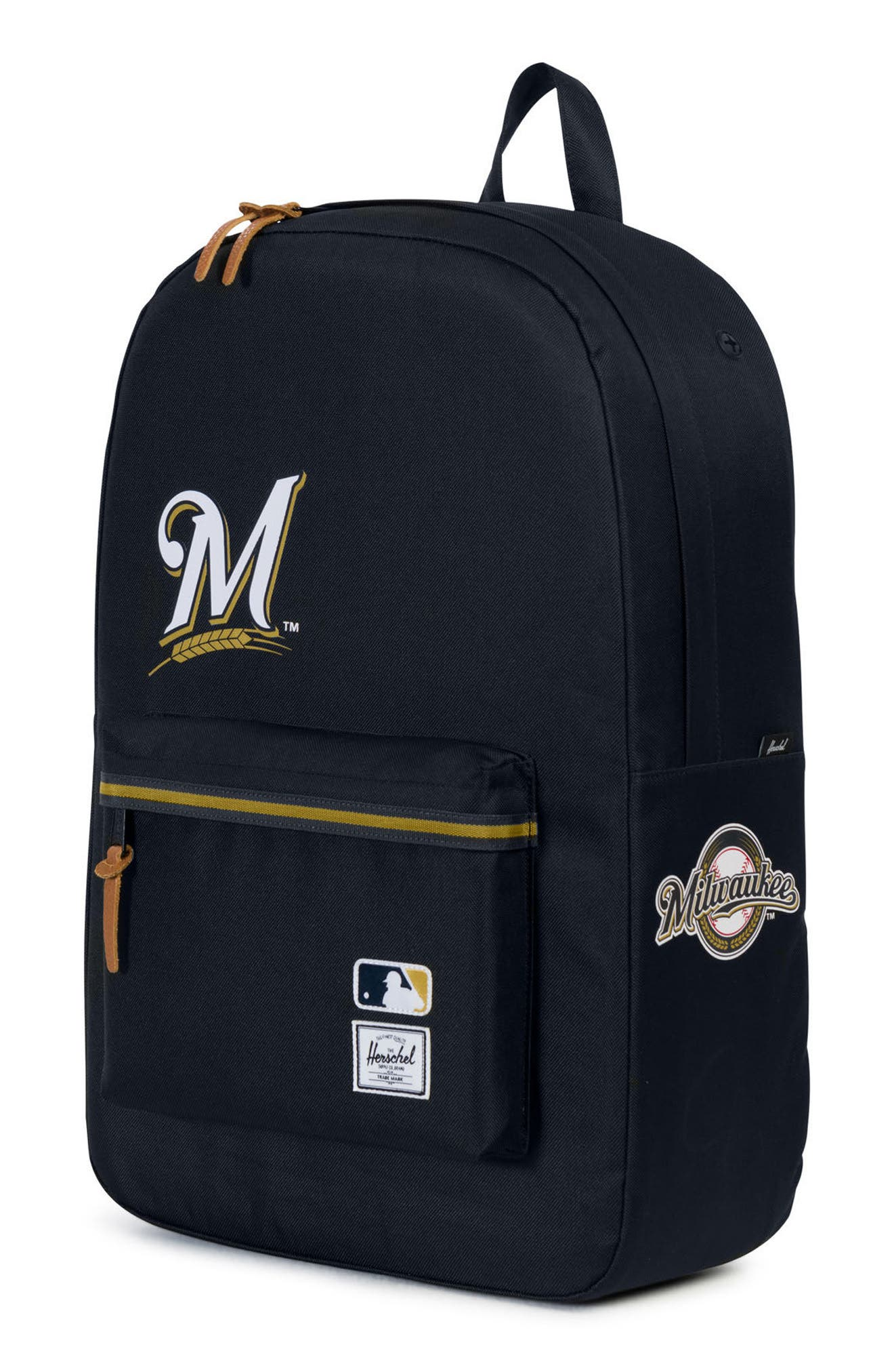 Heritage Milwaukee Brewers Backpack,                             Alternate thumbnail 4, color,                             406