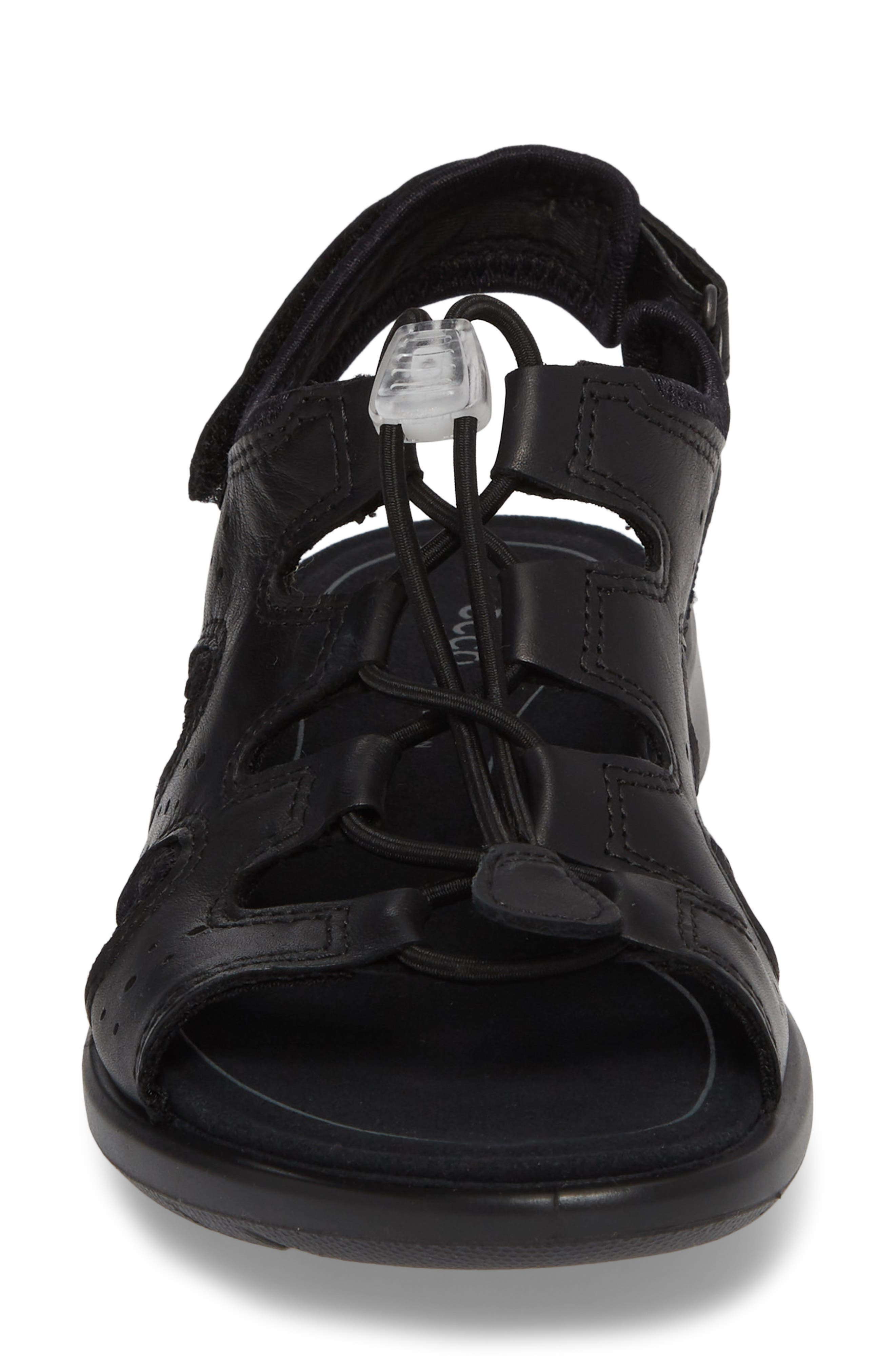 Bluma Toggle Sandal,                             Alternate thumbnail 4, color,                             001