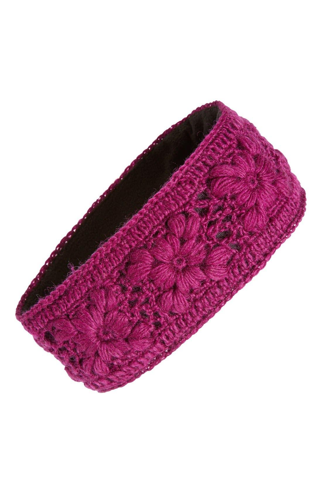Crochet Ear Warmer Headband,                             Main thumbnail 7, color,