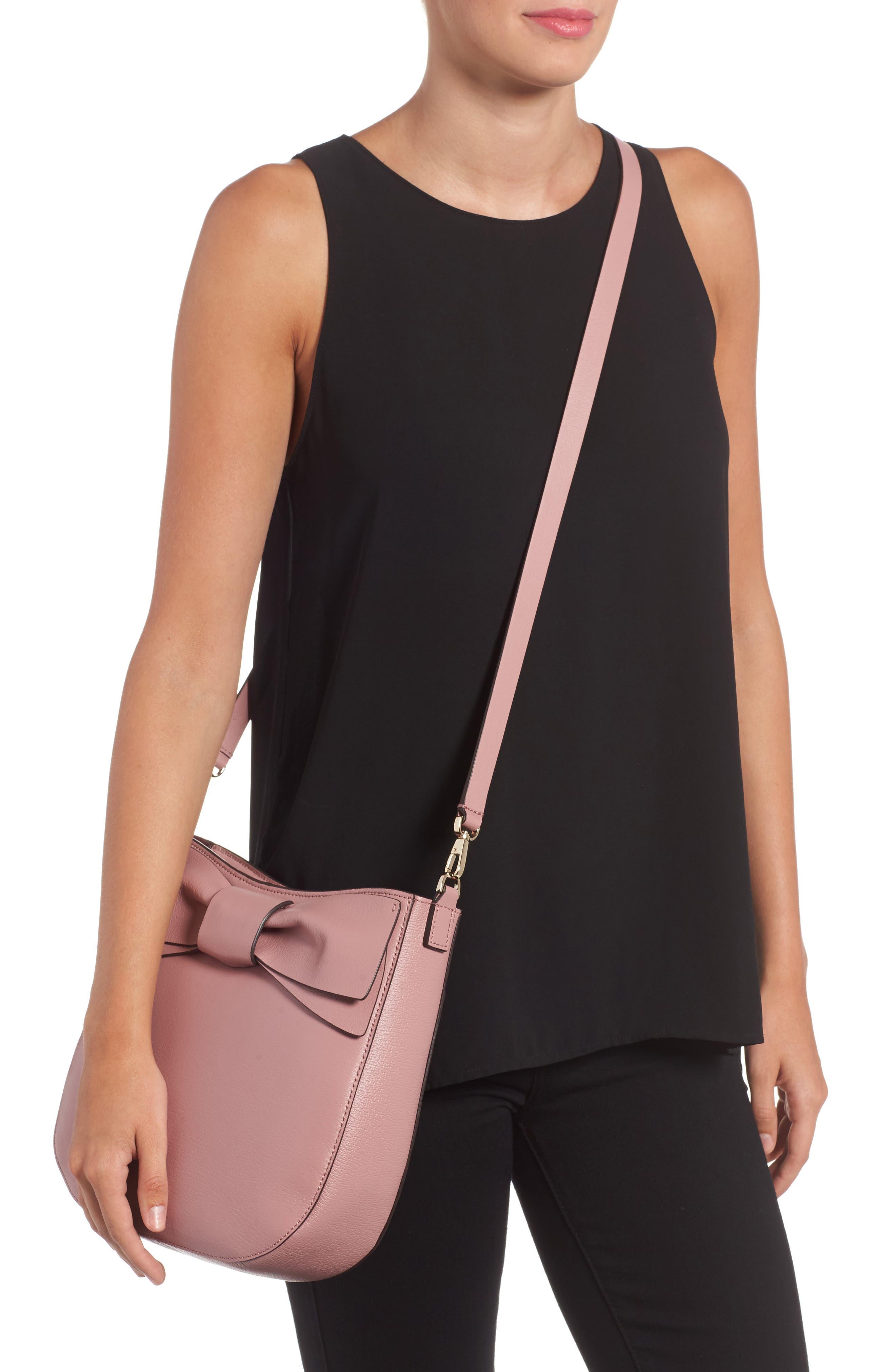 olive drive - robin leather crossbody bag,                             Alternate thumbnail 4, color,