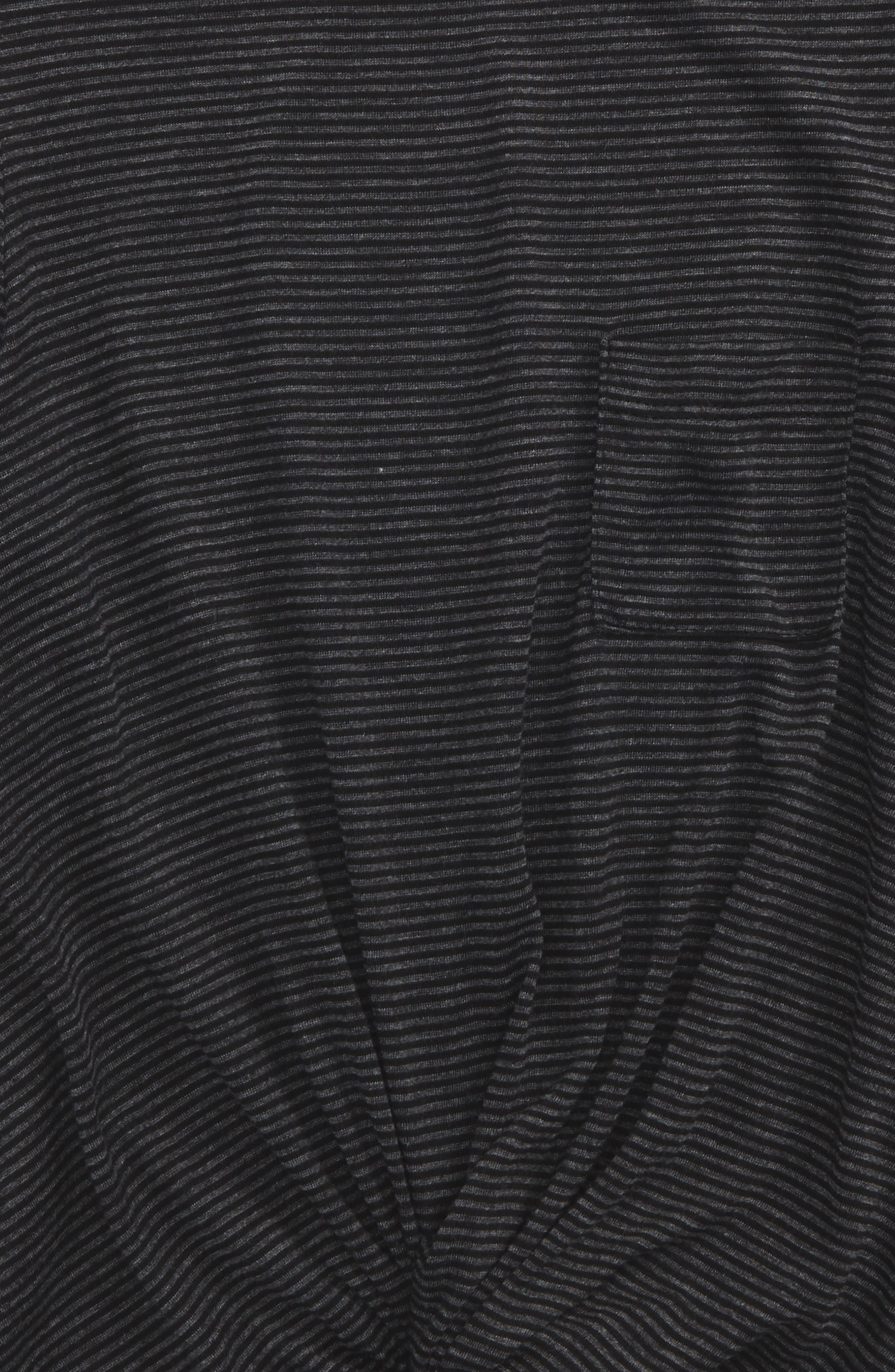 Knot Front Stripe Top,                             Alternate thumbnail 2, color,                             020