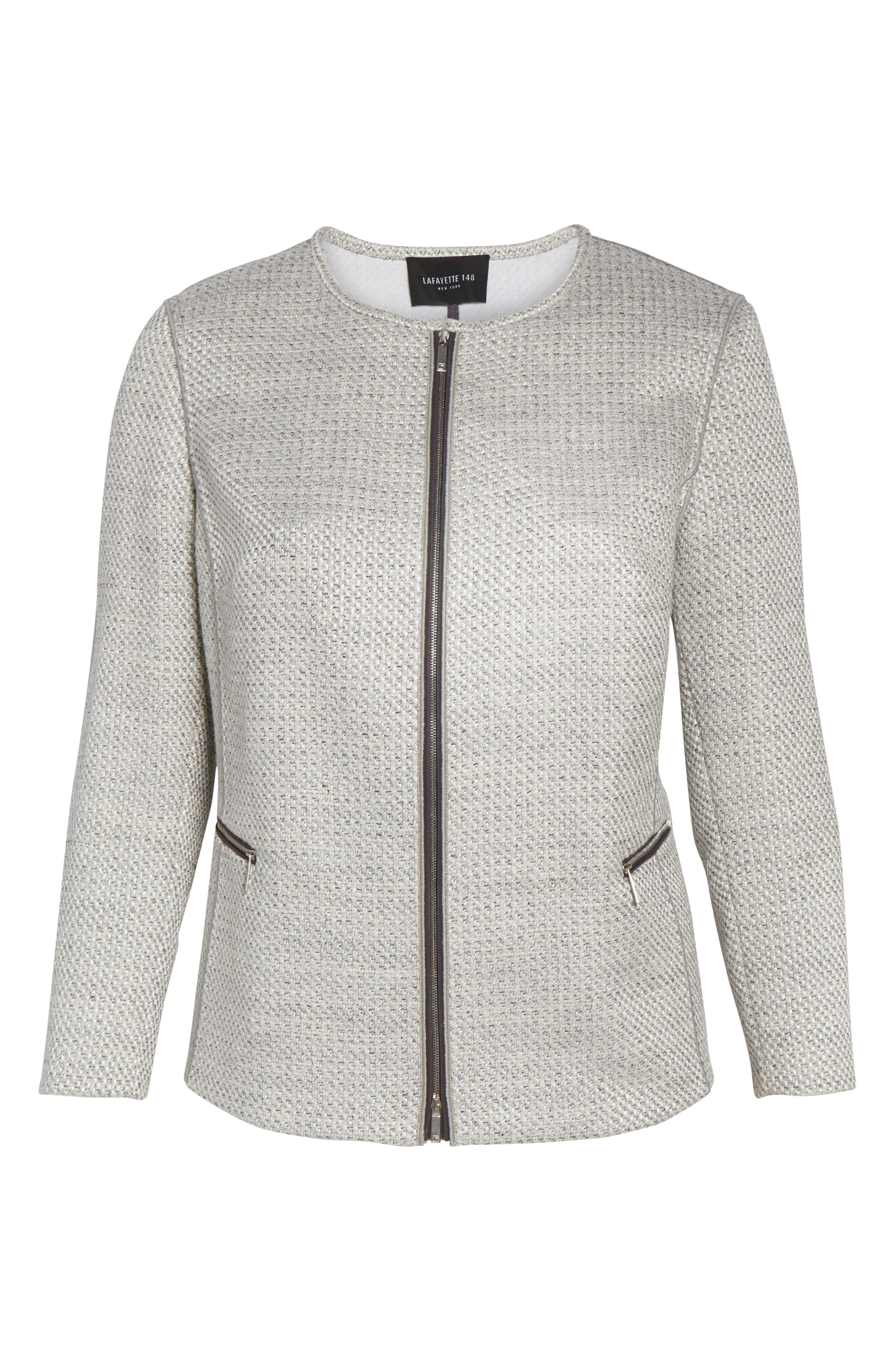 Kerrington Tweed Jacket,                             Alternate thumbnail 5, color,                             RAIN MULTI
