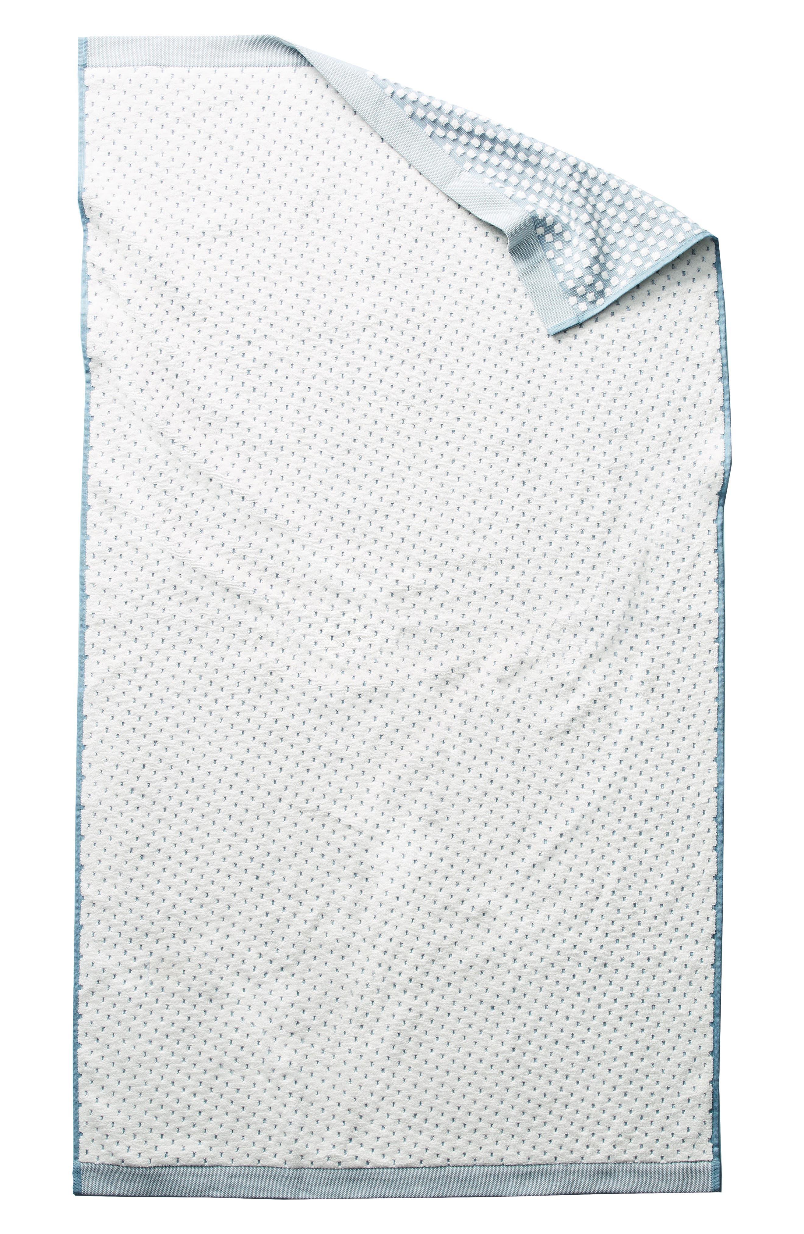 Dot Jacquard Hand Towel,                             Main thumbnail 2, color,