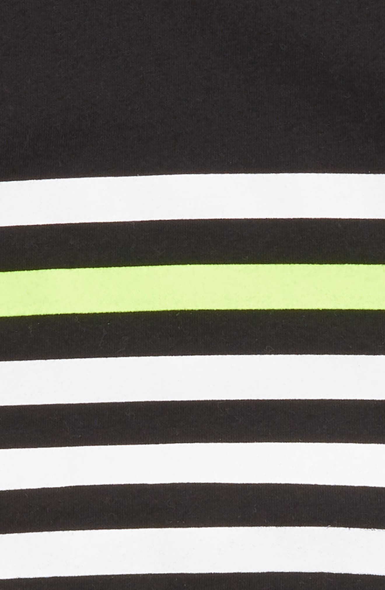 Stripe Romper,                             Alternate thumbnail 2, color,                             001