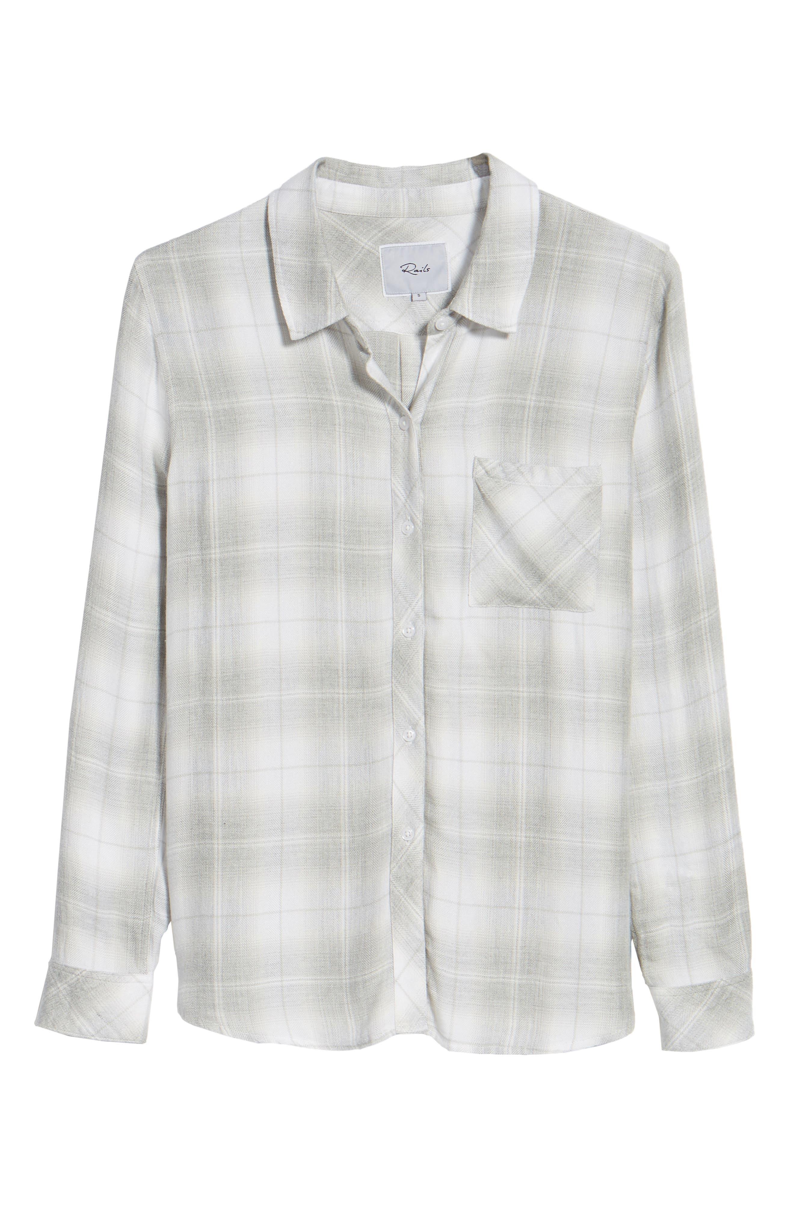 Hunter Plaid Shirt,                             Alternate thumbnail 696, color,
