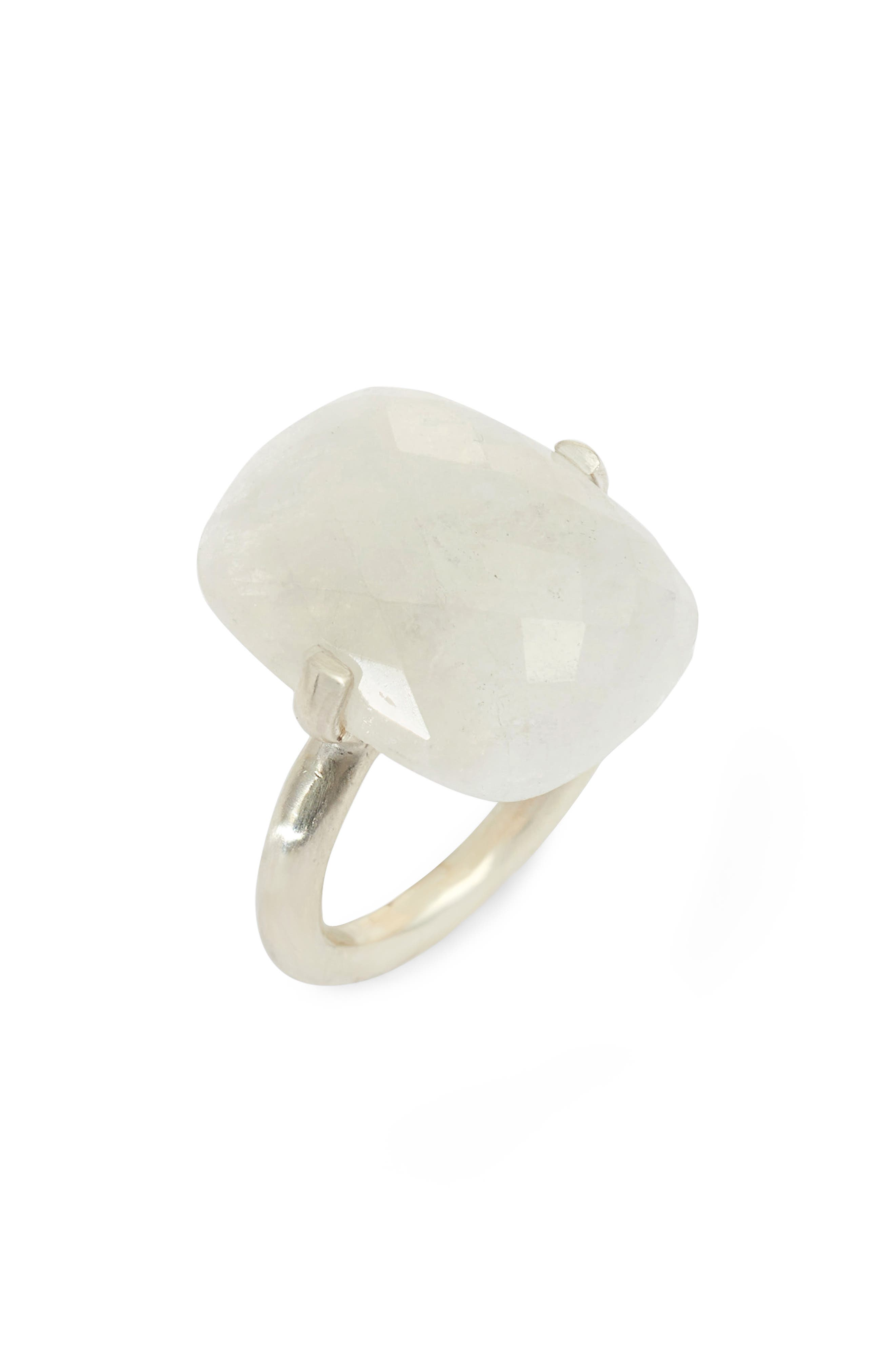 Faceted Stone Ring,                         Main,                         color, 100