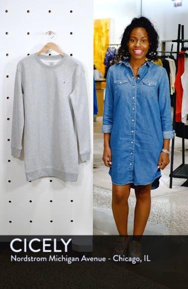 Classic Sweatshirt Dress, sales video thumbnail
