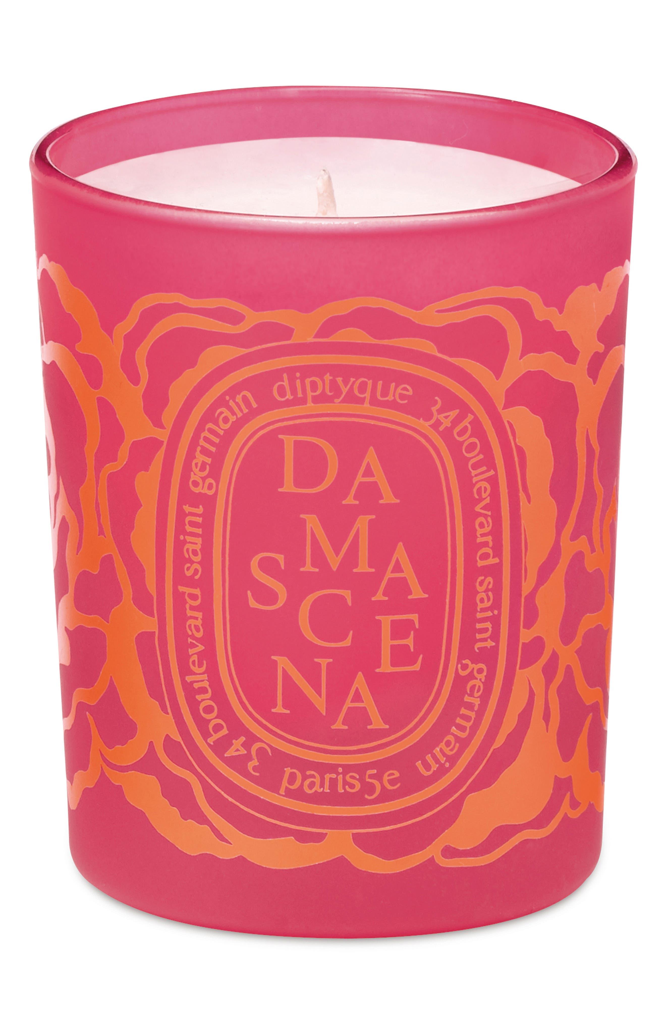 Roses Damascena Scented Votive Candle,                         Main,                         color, NO COLOR
