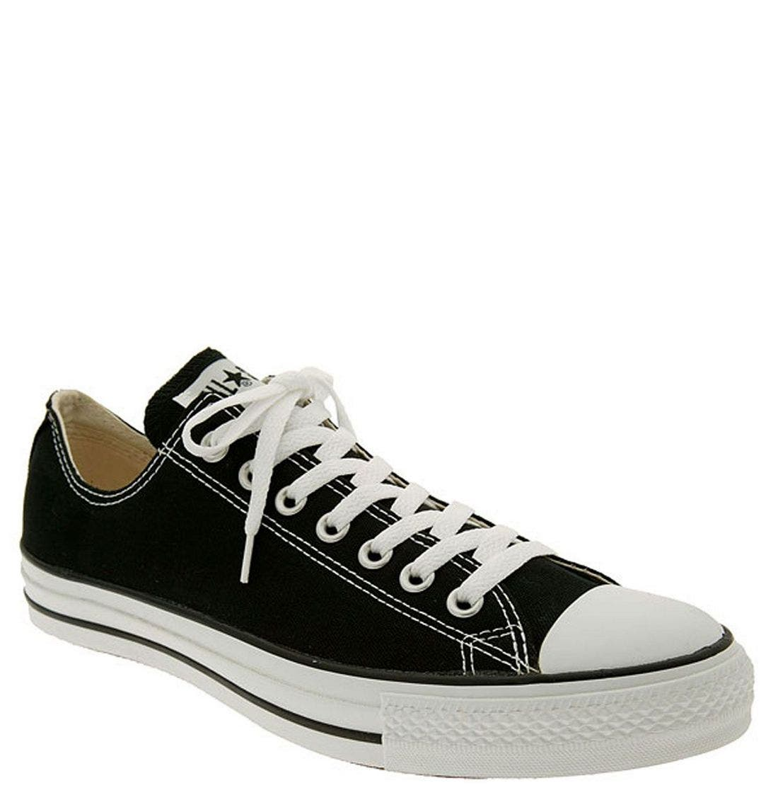 Chuck Taylor<sup>®</sup> Low Sneaker,                             Main thumbnail 1, color,                             BLACK