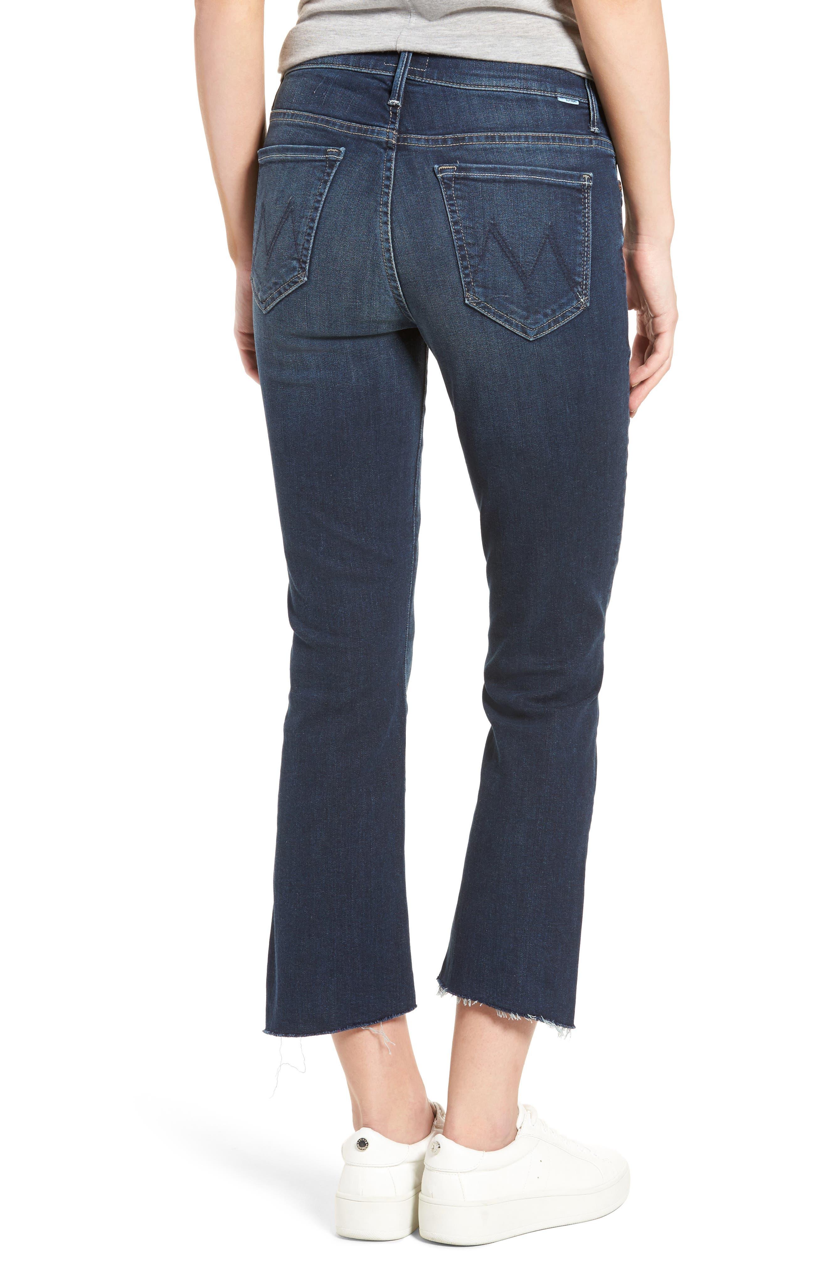 The Insider Step Hem Crop Bootcut Jeans,                             Alternate thumbnail 2, color,                             439