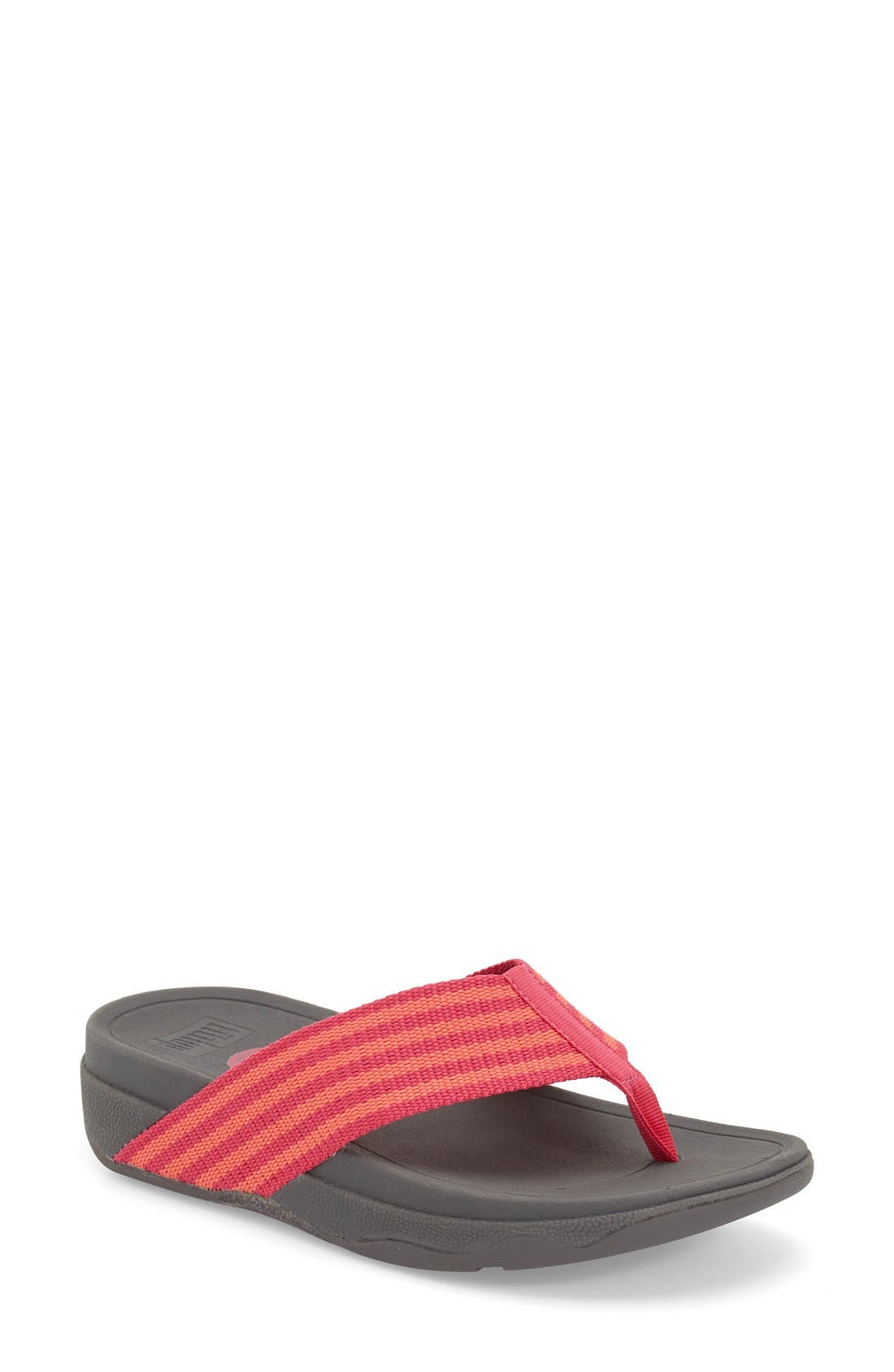 'Surfa' Thong Sandal,                             Main thumbnail 9, color,