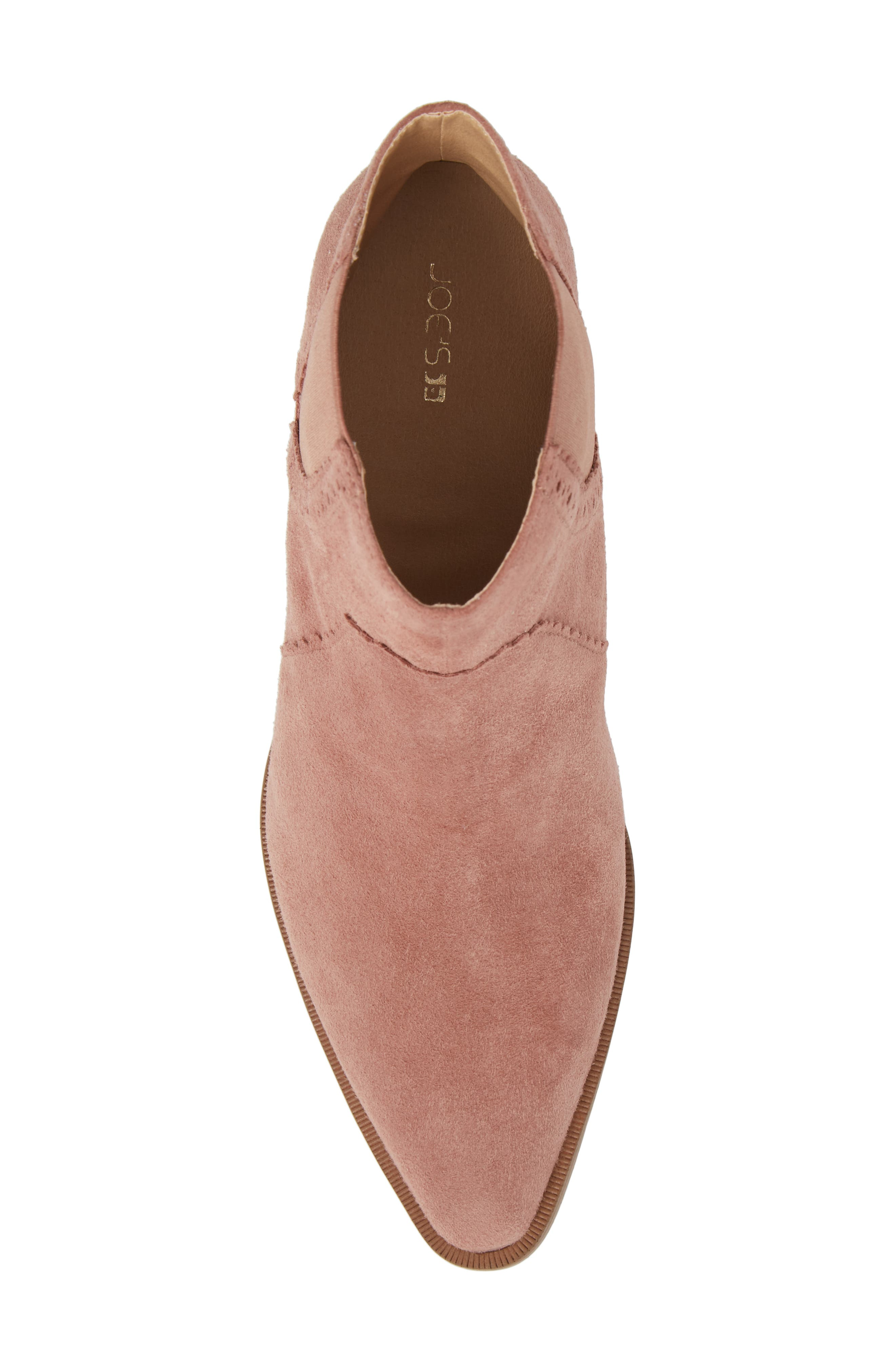 Mica Chelsea Bootie,                             Alternate thumbnail 5, color,                             ROSE SUEDE