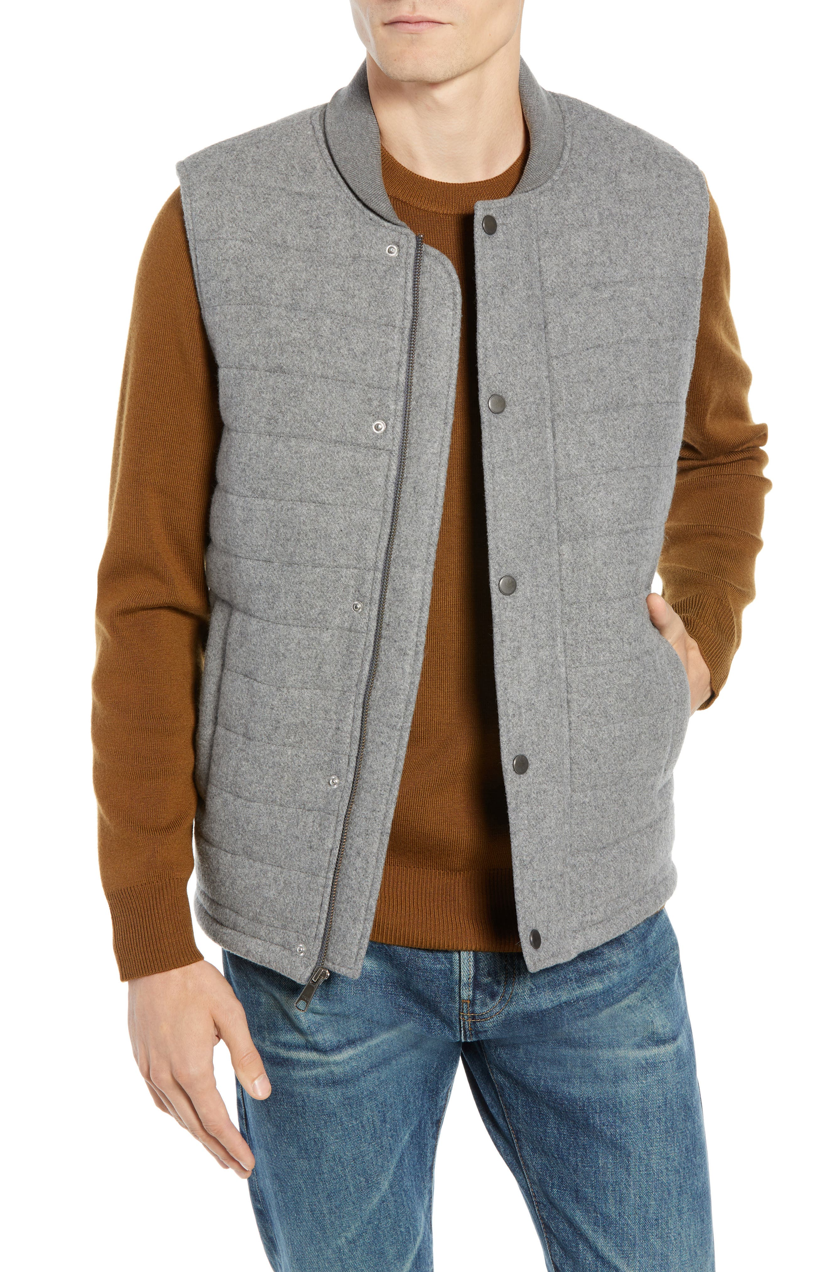 Quilted Vest,                             Main thumbnail 1, color,                             050