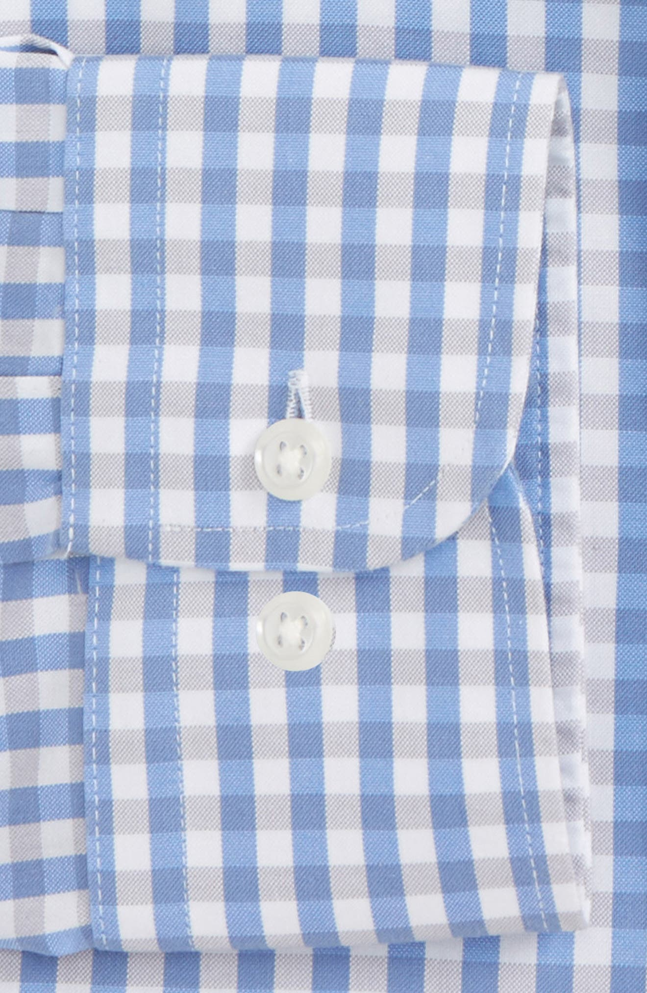 Smartcare<sup>™</sup> Traditional Fit Check Dress Shirt,                             Alternate thumbnail 6, color,                             050