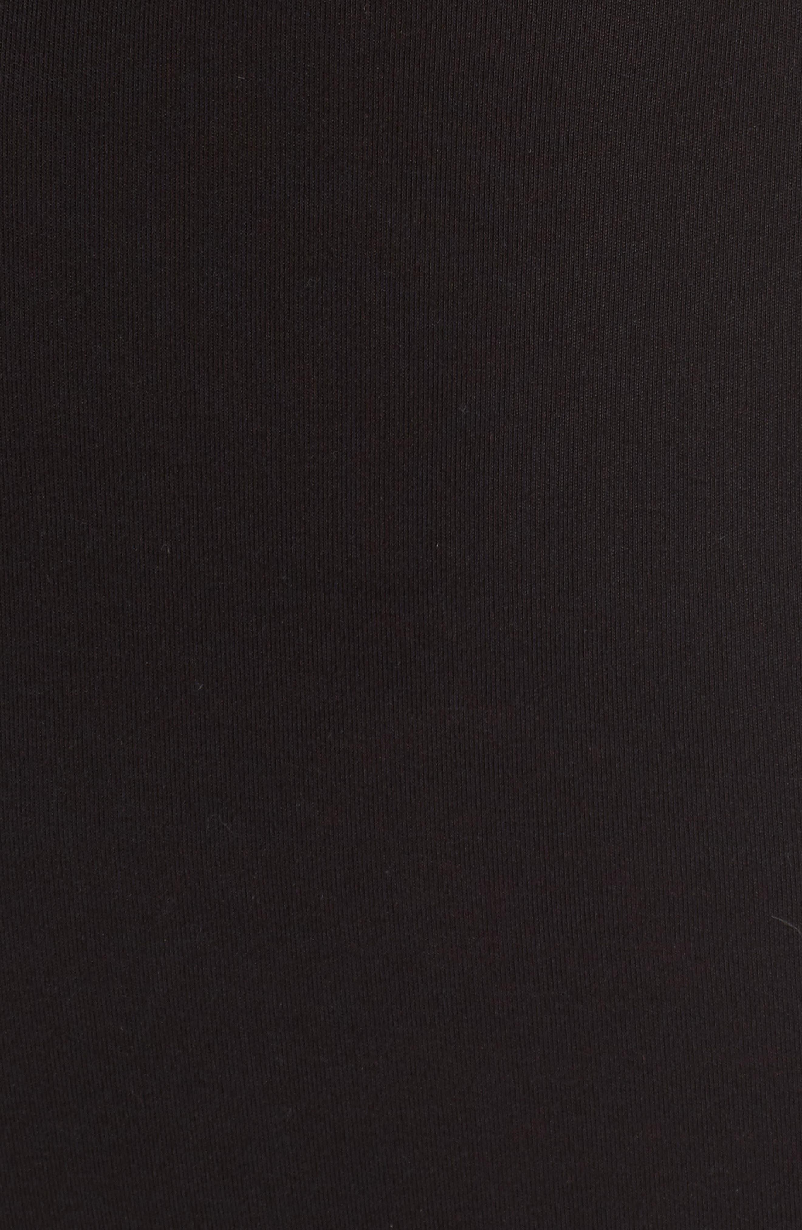 Knit Sheath Dress,                             Alternate thumbnail 5, color,                             001