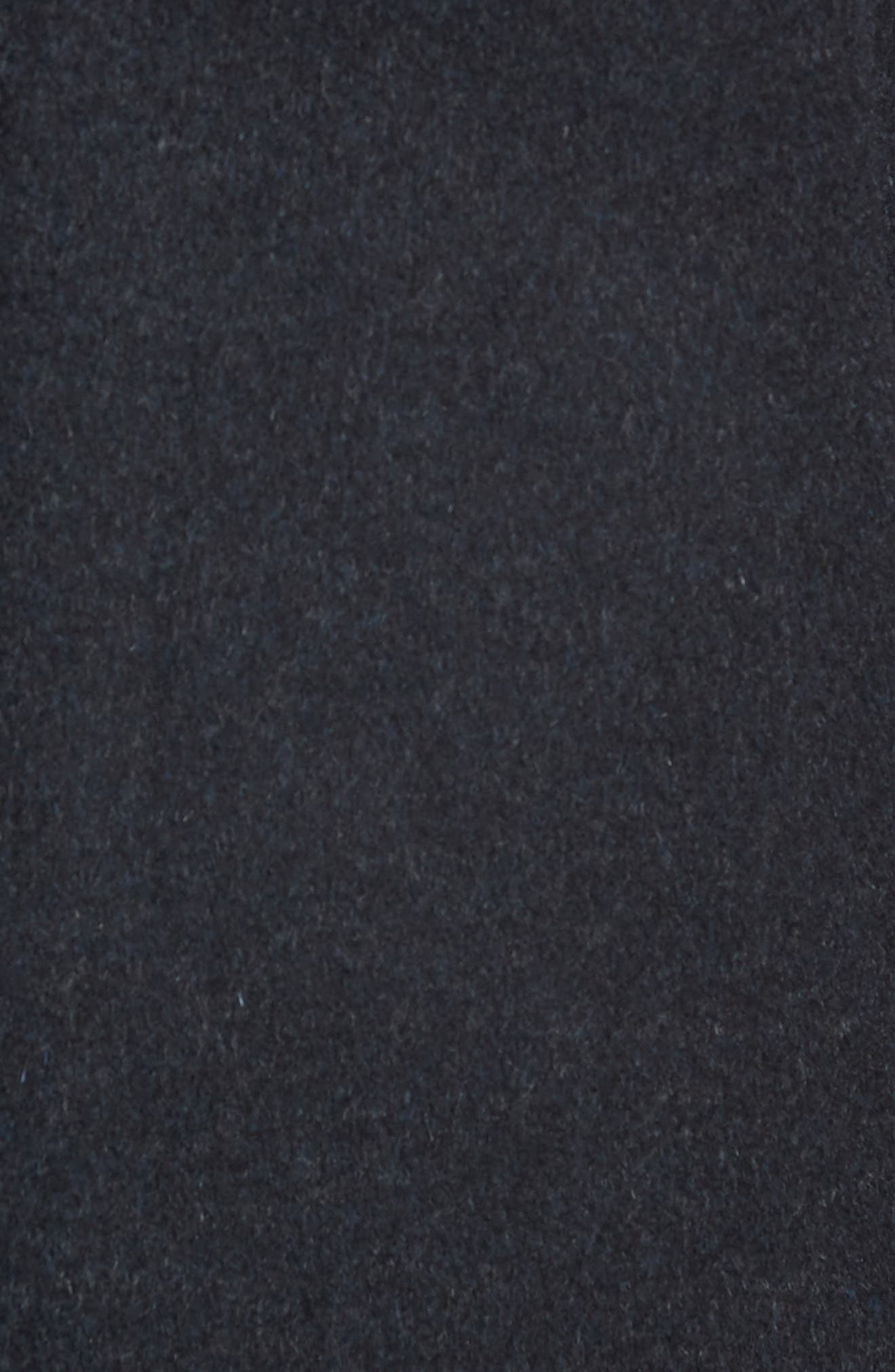 Hudson Wool Car Coat,                             Alternate thumbnail 6, color,                             NAVY MELANGE
