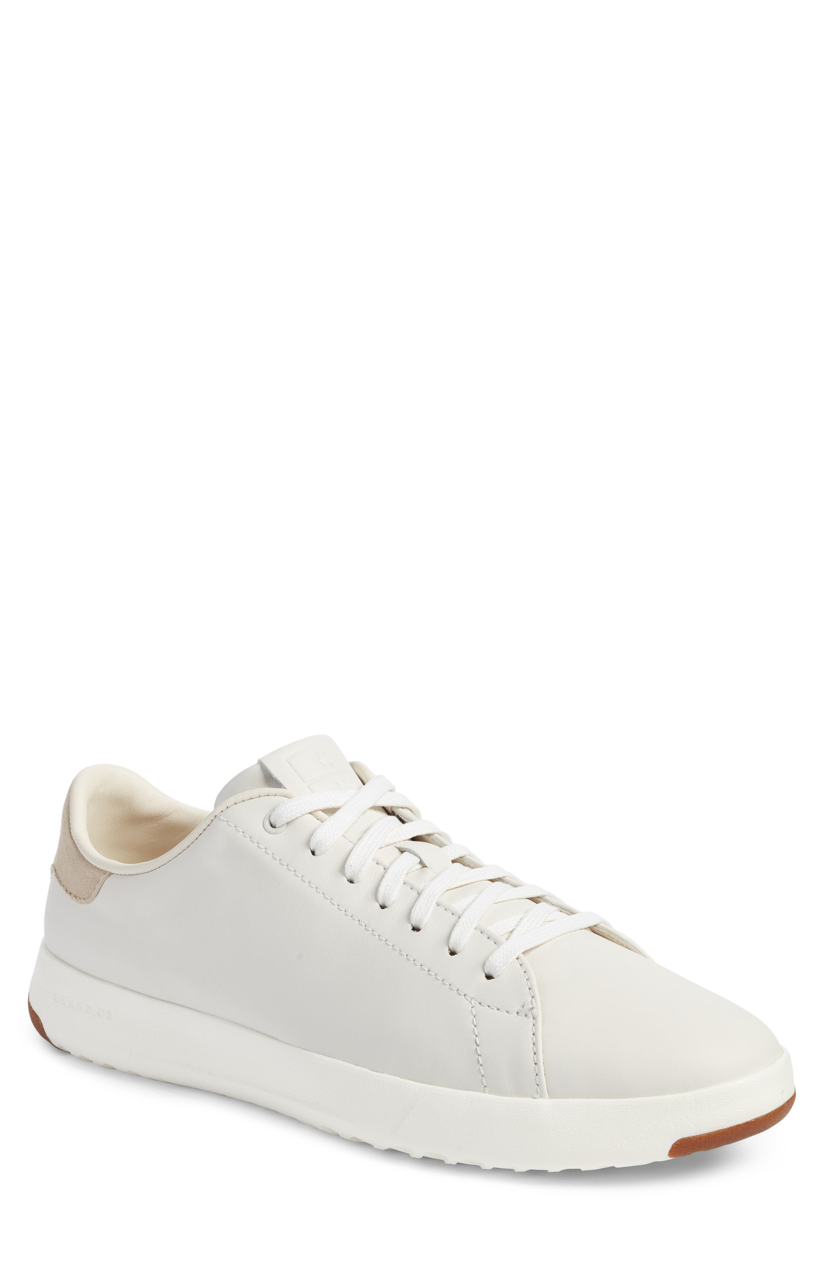 GrandPro Tennis Sneaker,                             Main thumbnail 1, color,                             WHITE