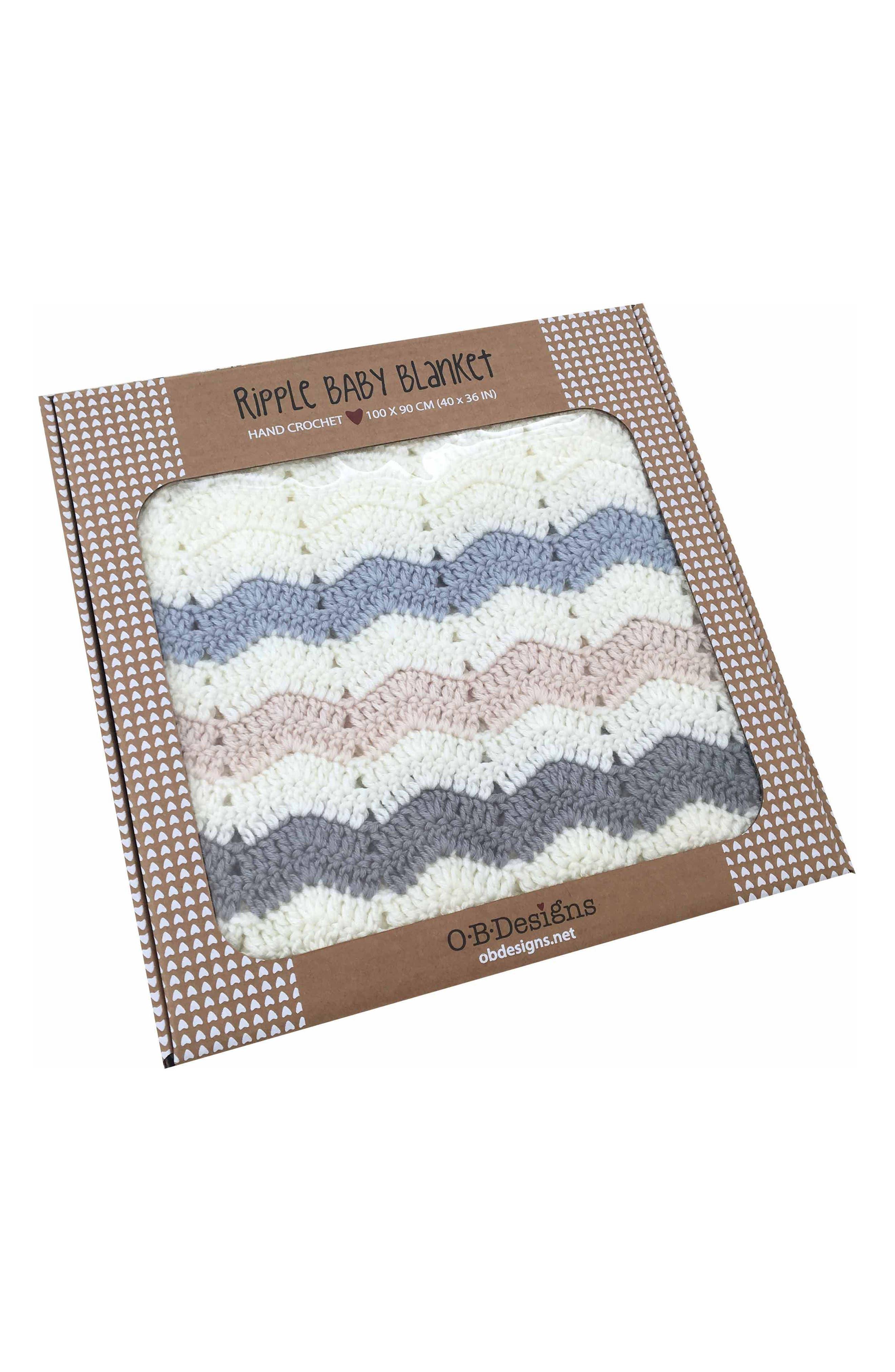 Ripple Crocheted Blanket,                             Alternate thumbnail 3, color,                             401