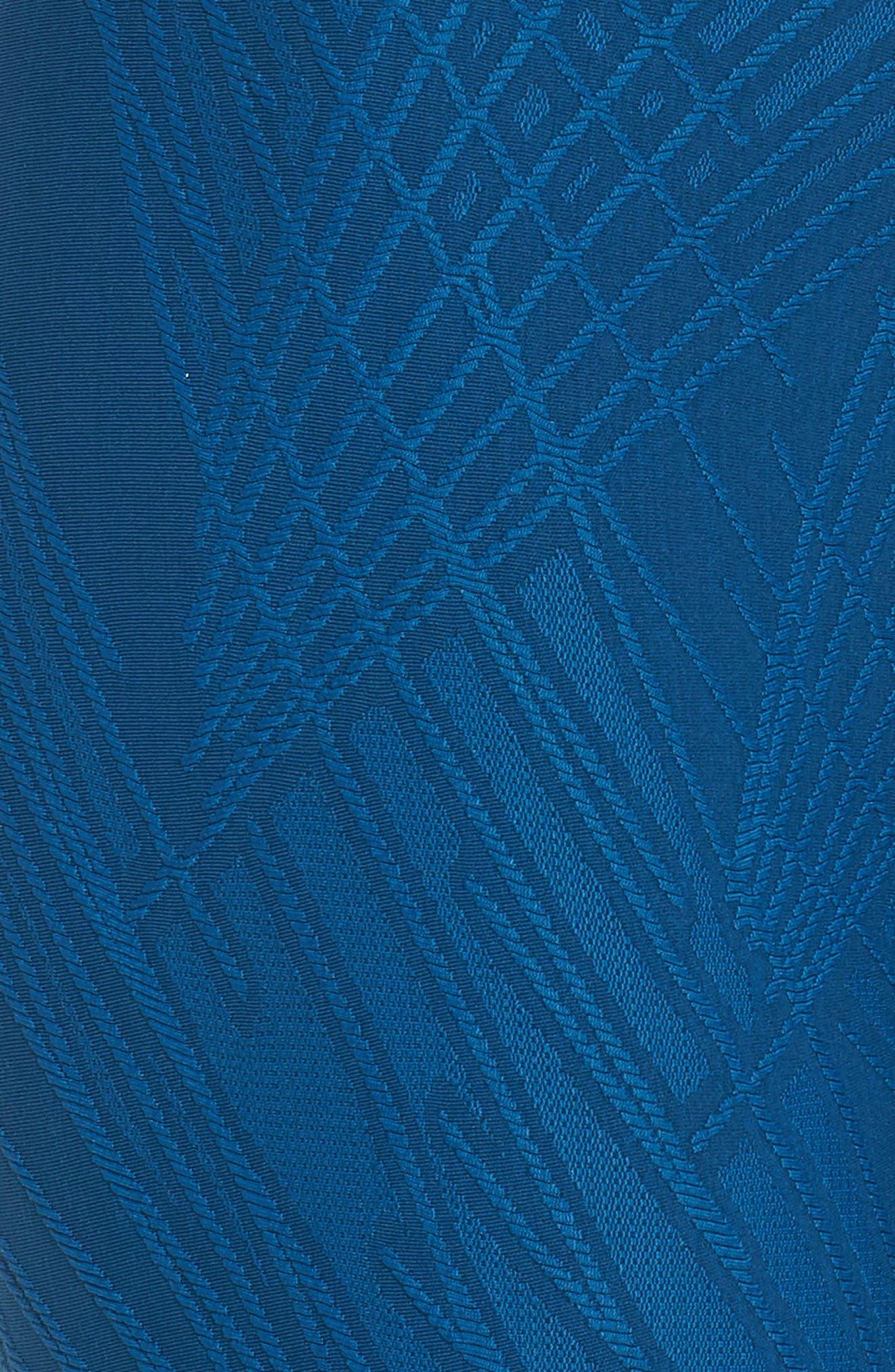 ONZIE,                             Selenite Midi Leggings,                             Alternate thumbnail 6, color,                             DEEP PETROL