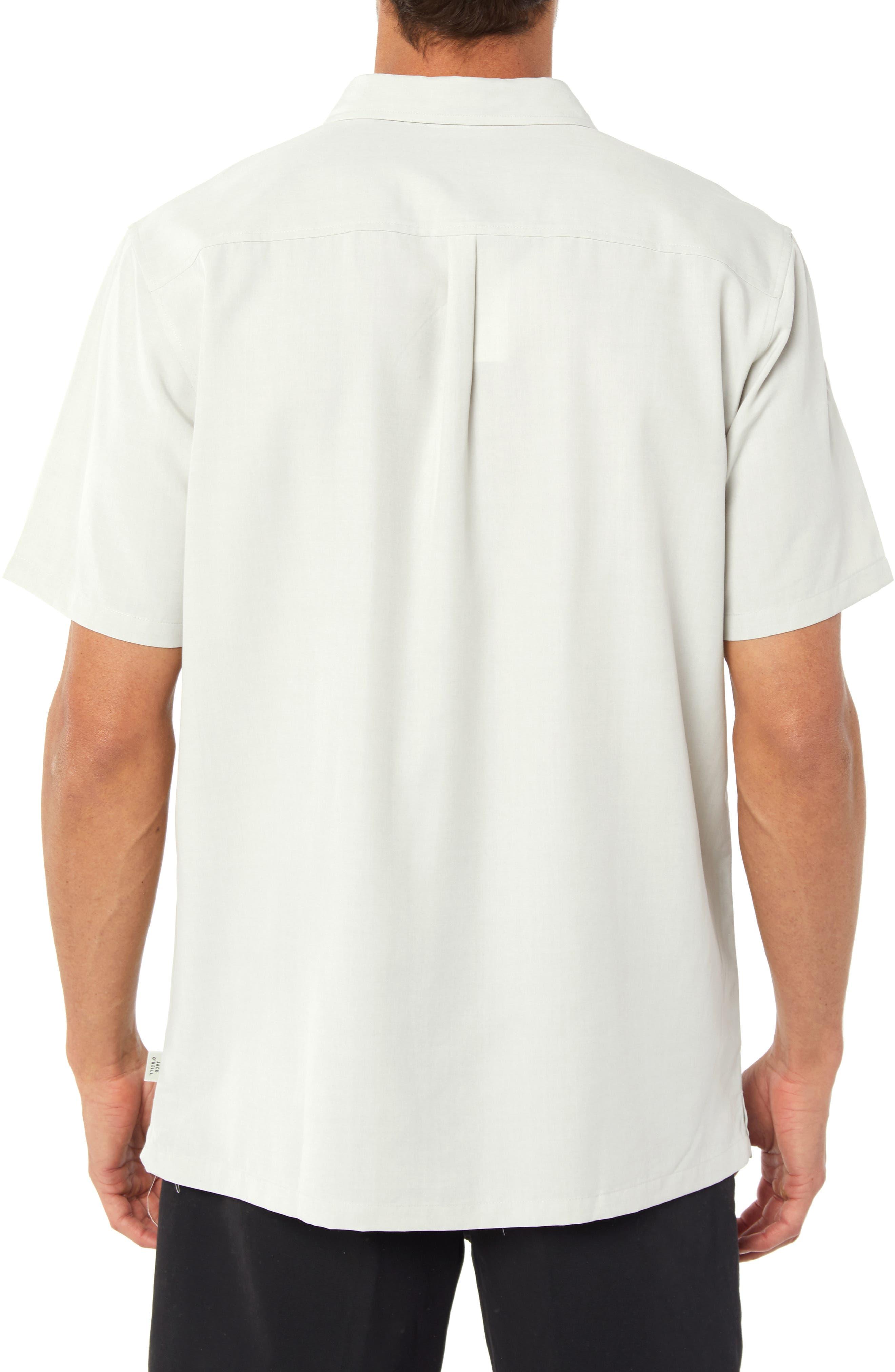 Liberty Regular Fit Short Sleeve Sport Shirt,                             Alternate thumbnail 2, color,                             FOG