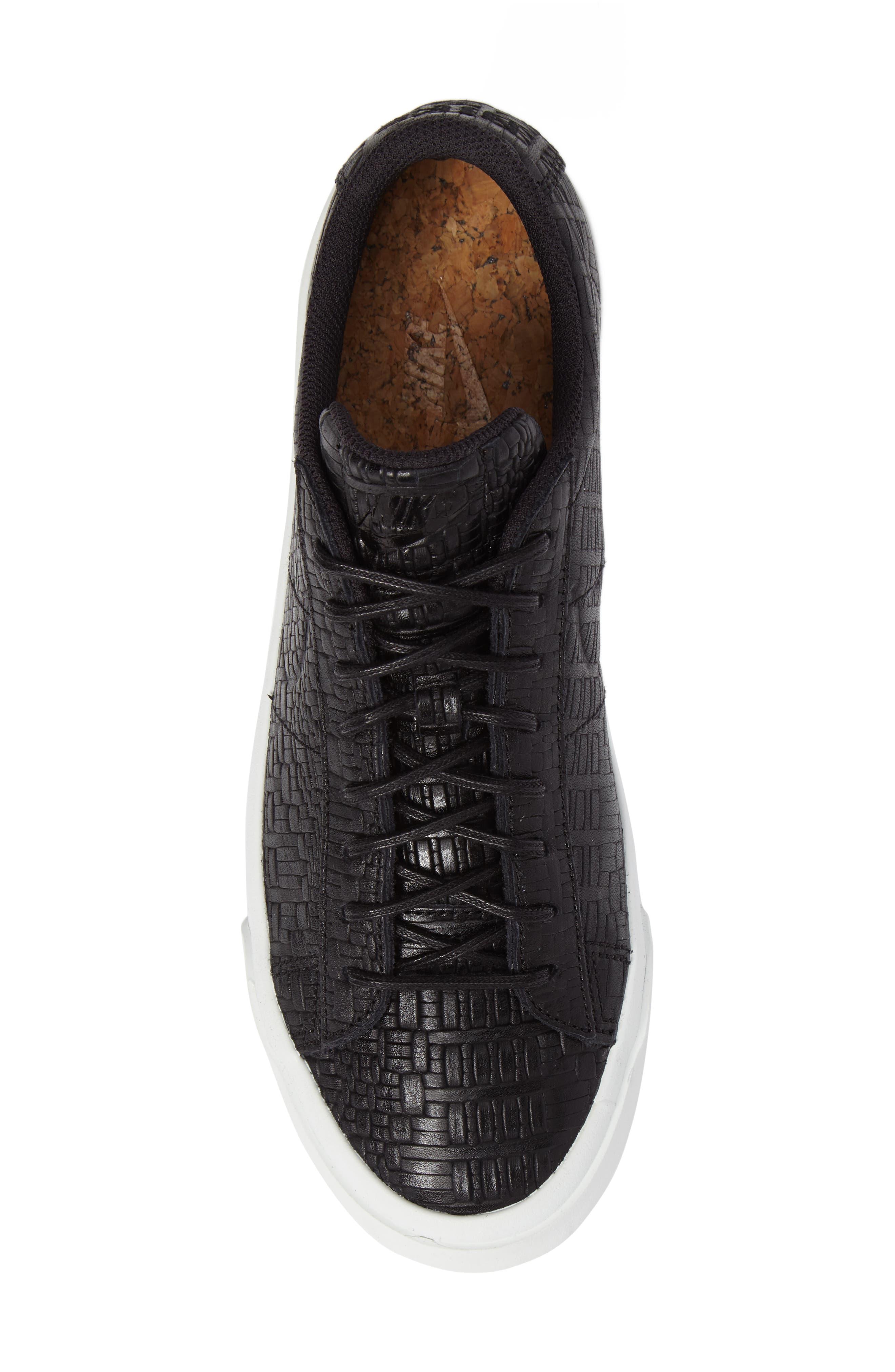 Blazer Studio Sneaker,                             Alternate thumbnail 5, color,                             001