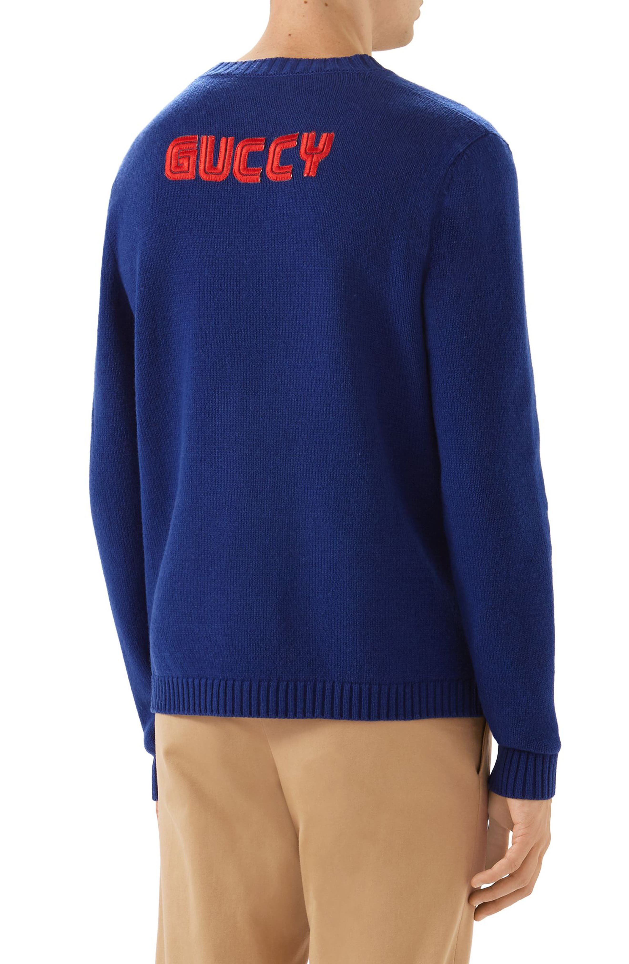 Bugs Bunny Wool Sweater,                             Alternate thumbnail 2, color,                             493