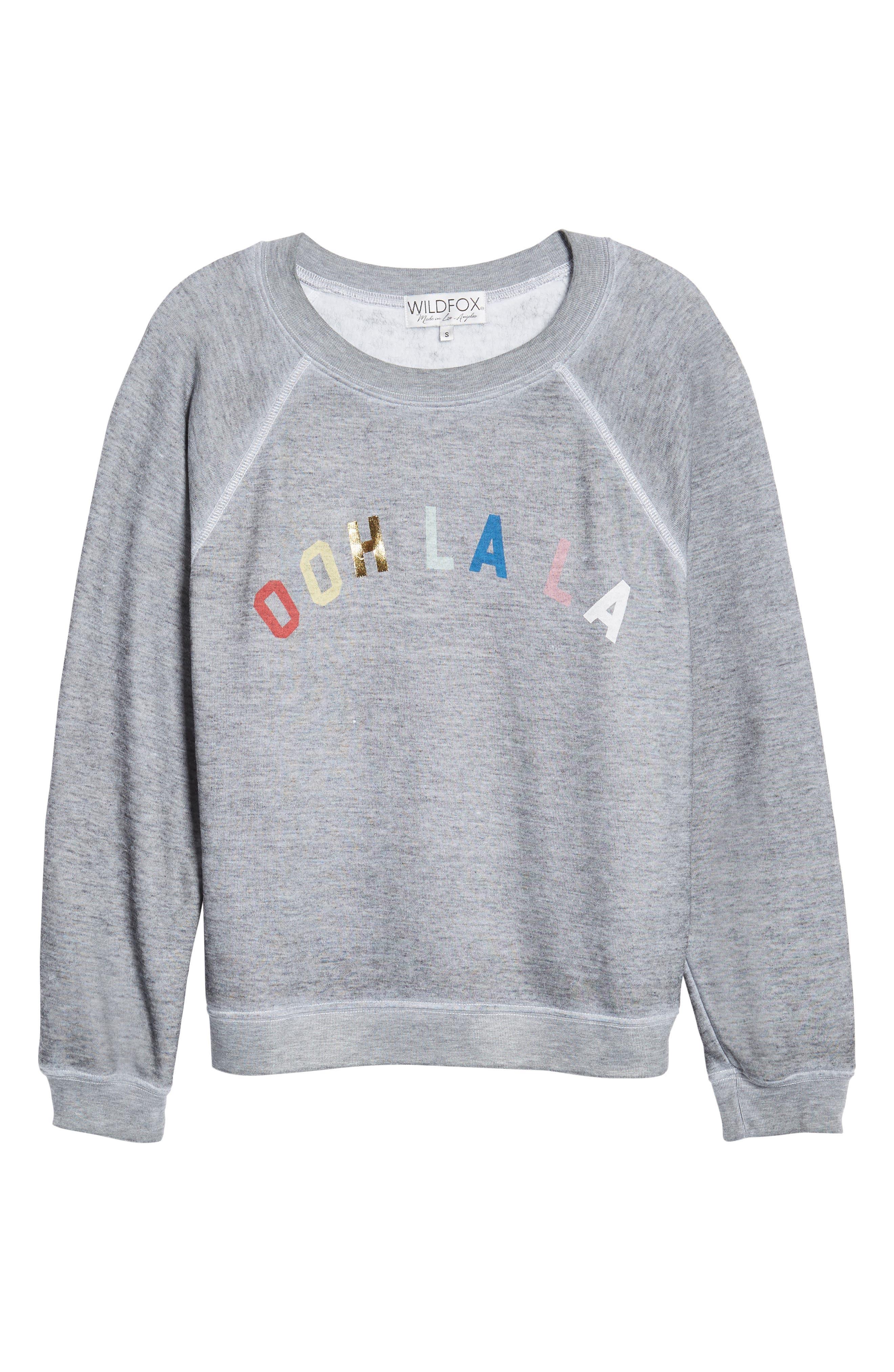 Ooh La La Sweatshirt,                             Alternate thumbnail 6, color,                             020