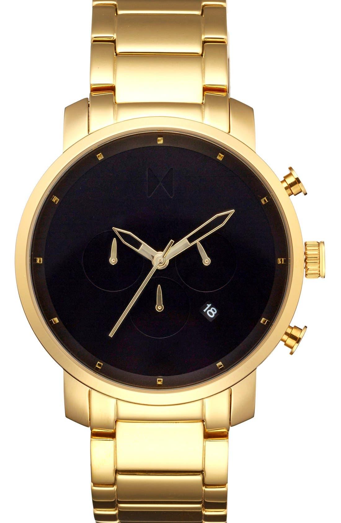 Chronograph Bracelet Watch, 45mm,                             Main thumbnail 1, color,                             712