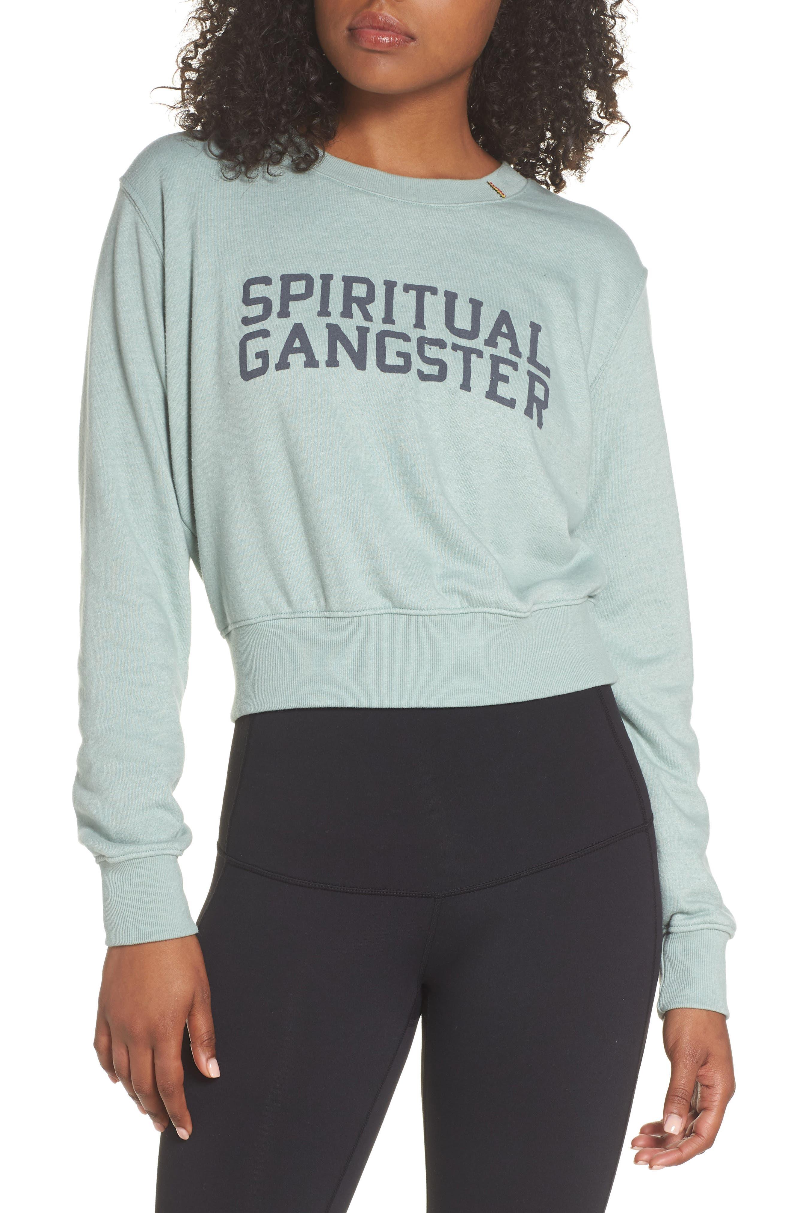 Varsity Crop Sweatshirt,                         Main,                         color, 302