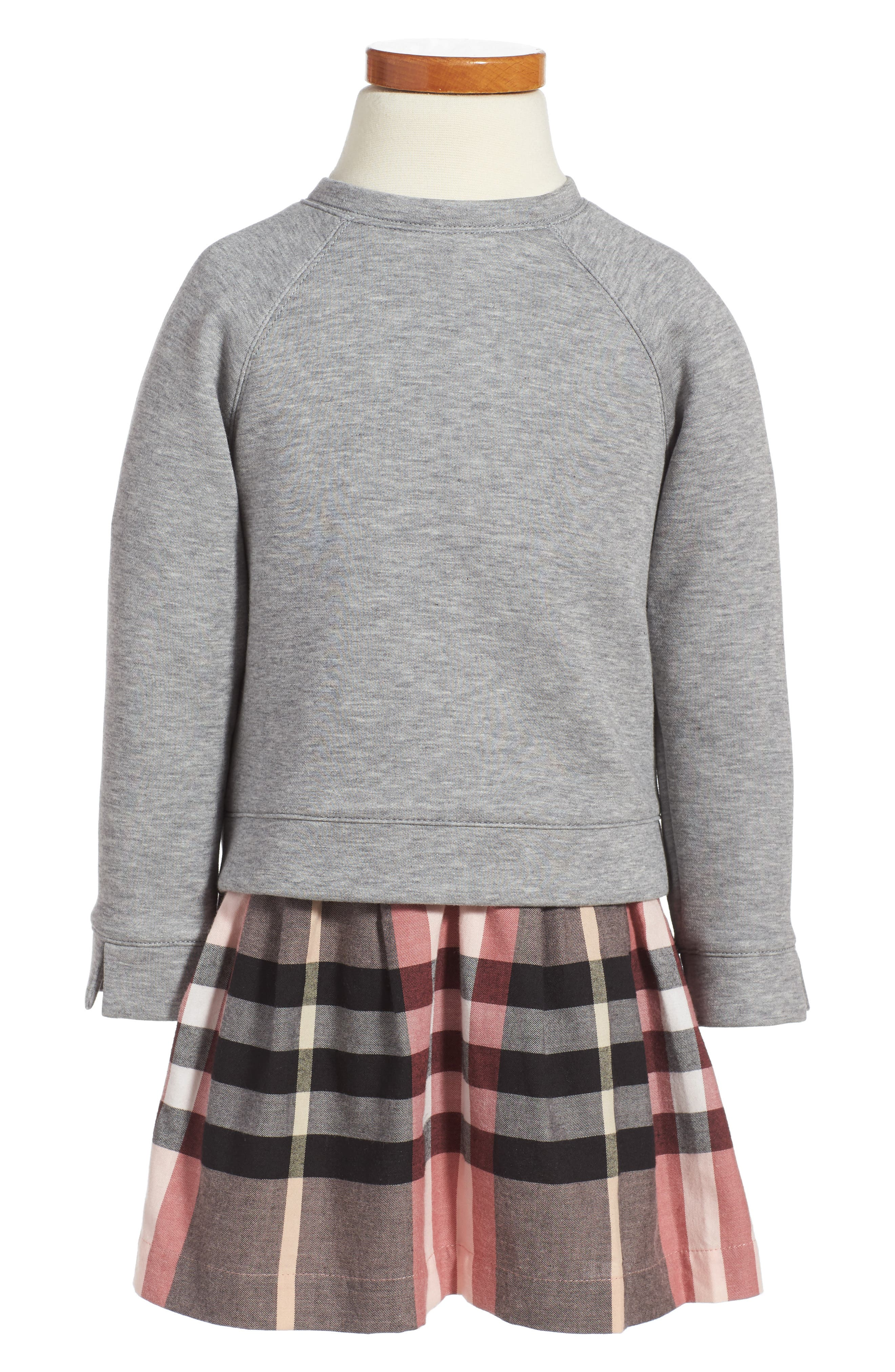 Mini Francine Sweatshirt Dress,                         Main,                         color,