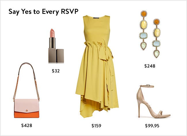 Say yes to every RSVP: women's party and event clothing, accessories, shoes and more.