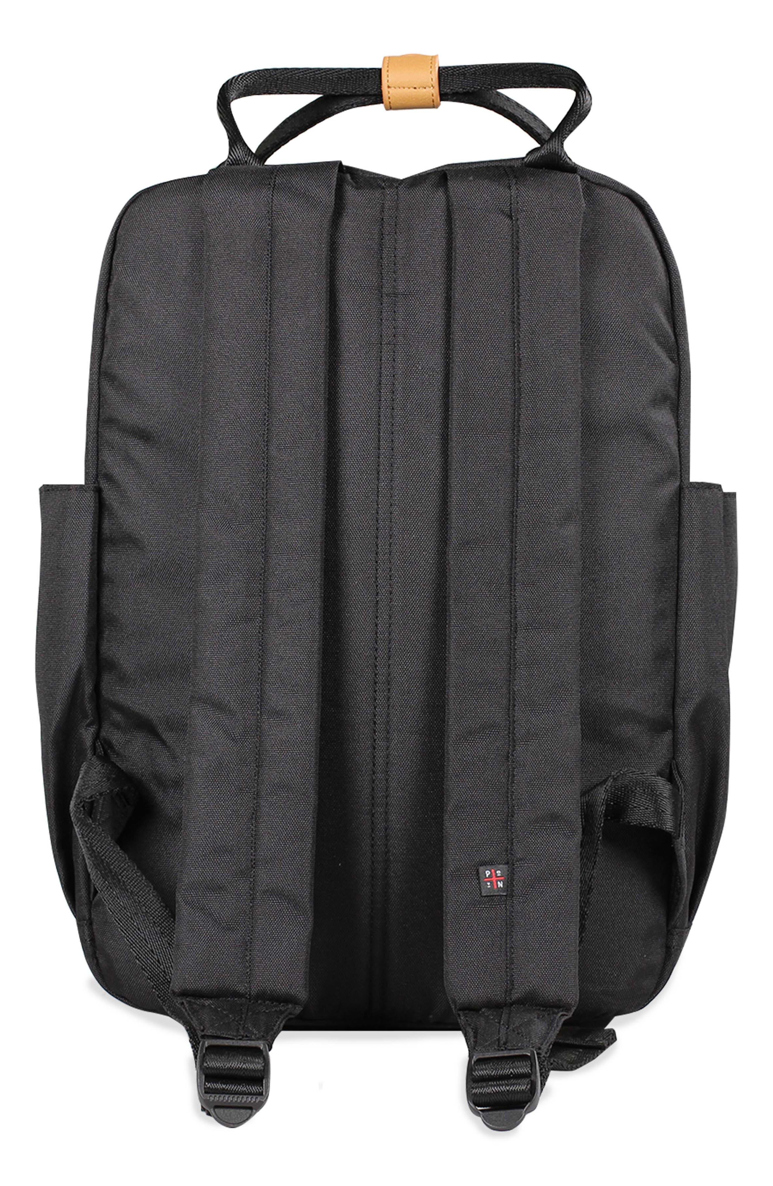 Elkin Diaper Backpack,                             Alternate thumbnail 2, color,                             BLACK