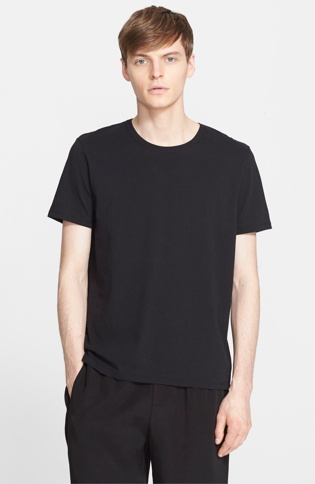 Cotton Jersey T-Shirt,                             Main thumbnail 1, color,                             001